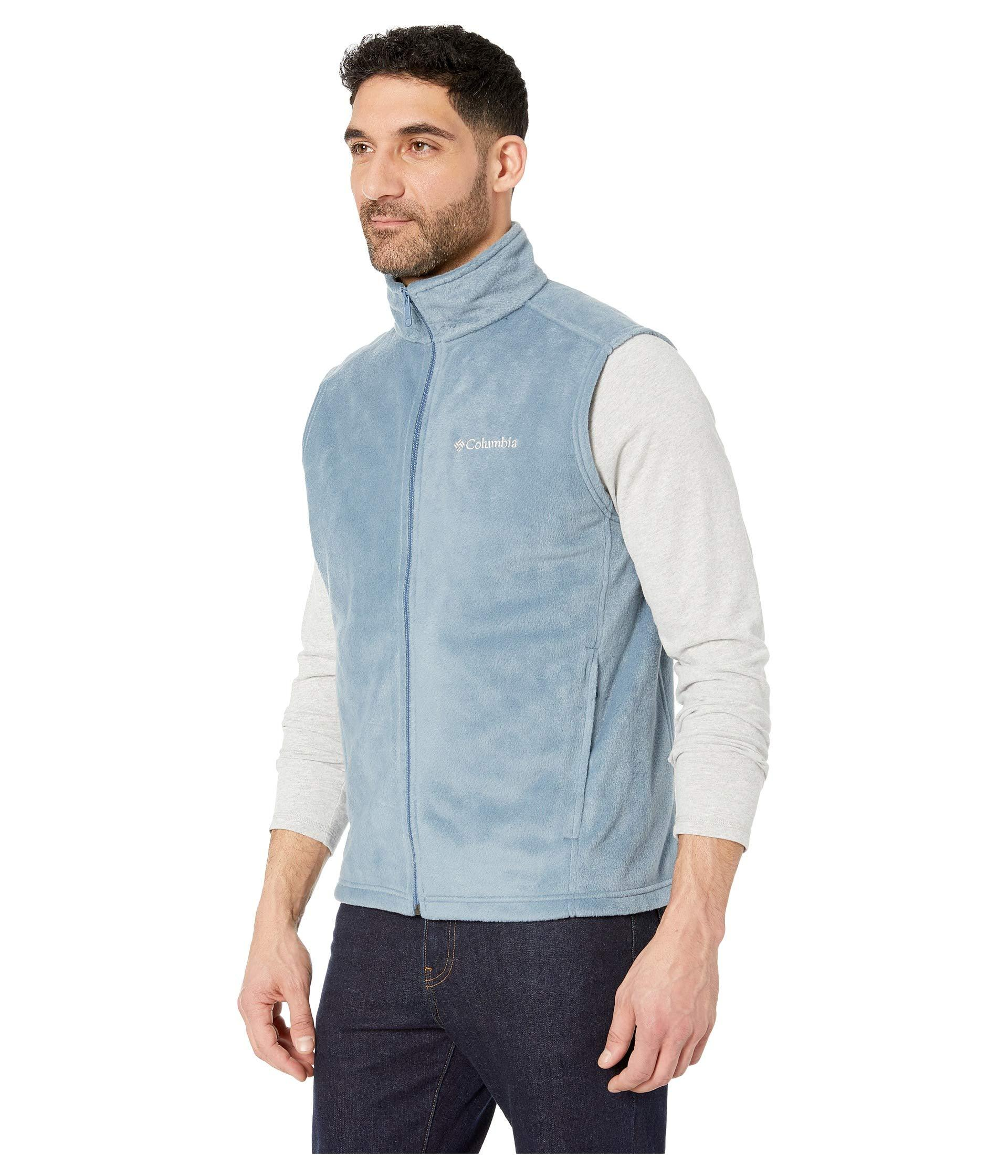 d3390e32b3ab8d Lyst - Columbia Steens Mountaintm Vest (stone delta) Men s Vest in Blue for  Men