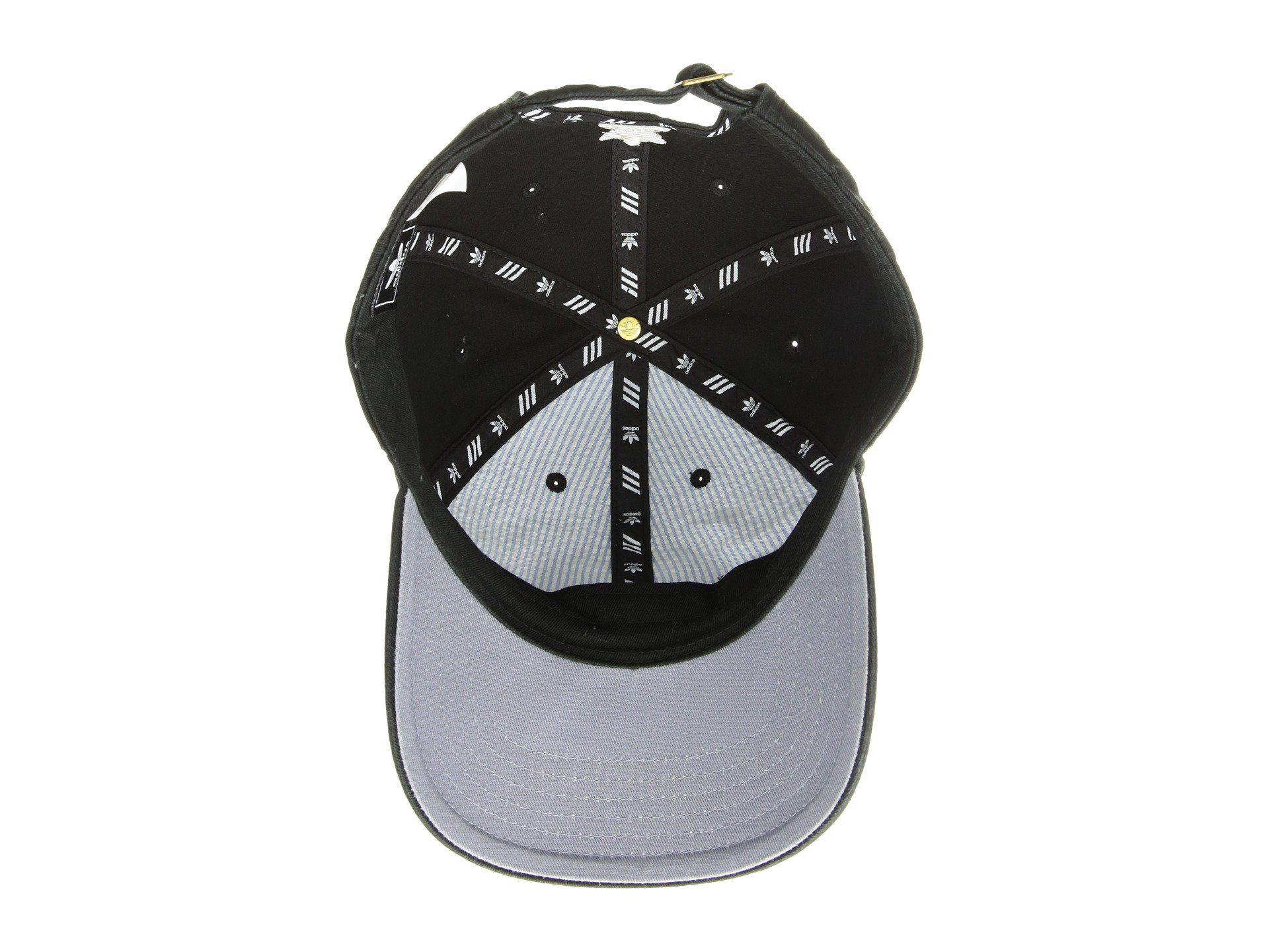 6fcfc5659e8 Lyst - adidas Originals Originals Relaxed Strapback Hat (collegiate ...