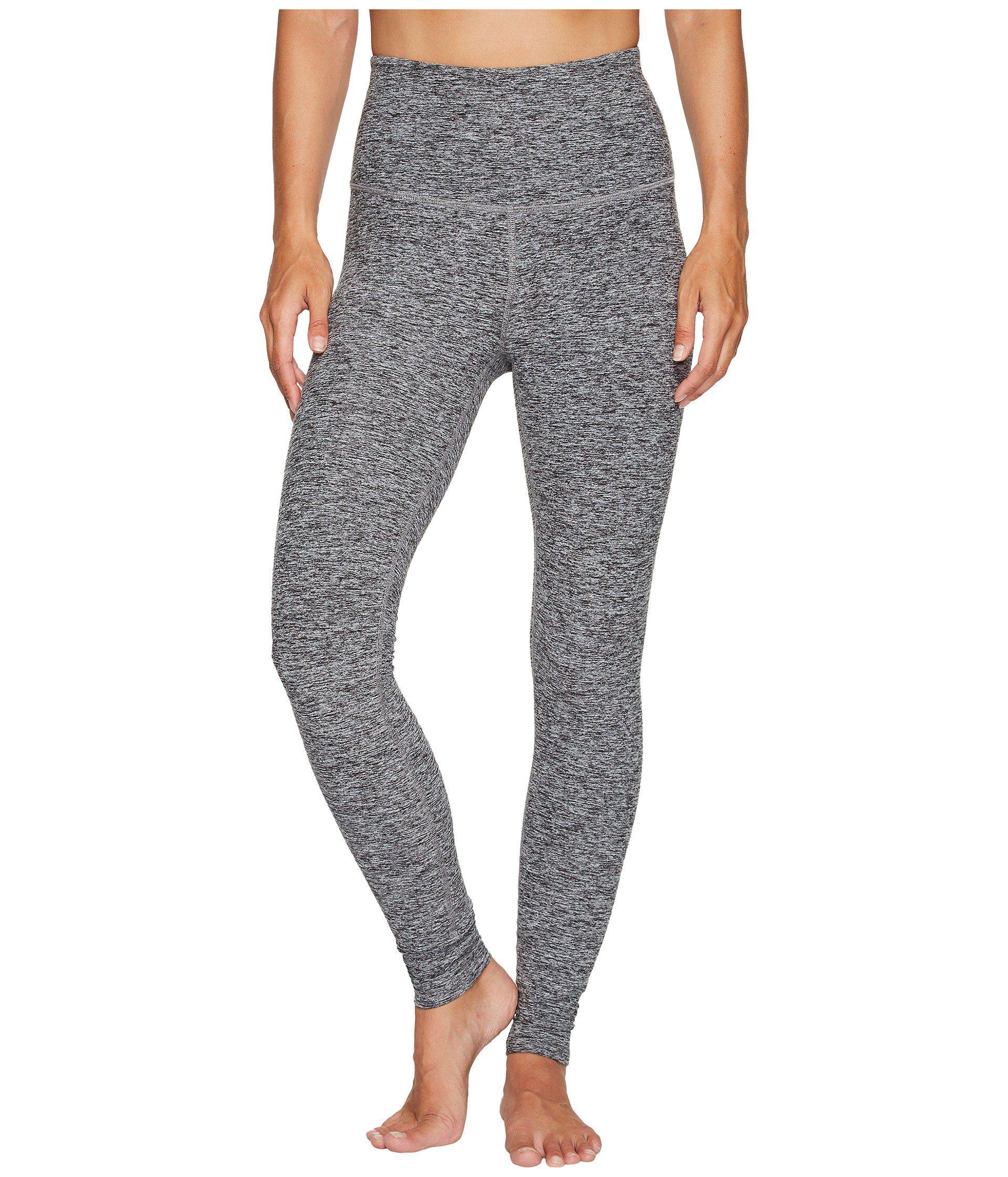 6b0a2ac08eec2 Lyst - Beyond Yoga High Waist Long Legging (black/white) Women's ...