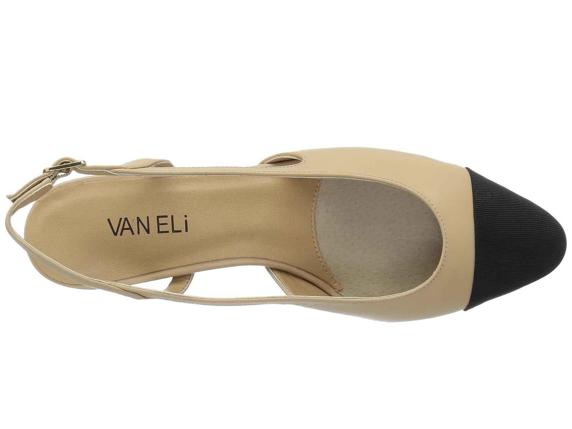 77993cb99b6 Lyst - Vaneli Aliz (platinum Nizza) Women s 1-2 Inch Heel Shoes in Black