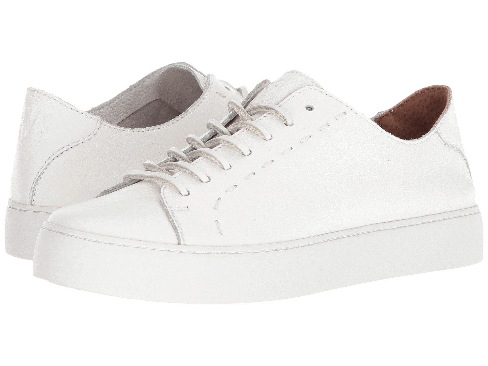 Frye Lena Low Lace-Up Sneakers e9Zwf