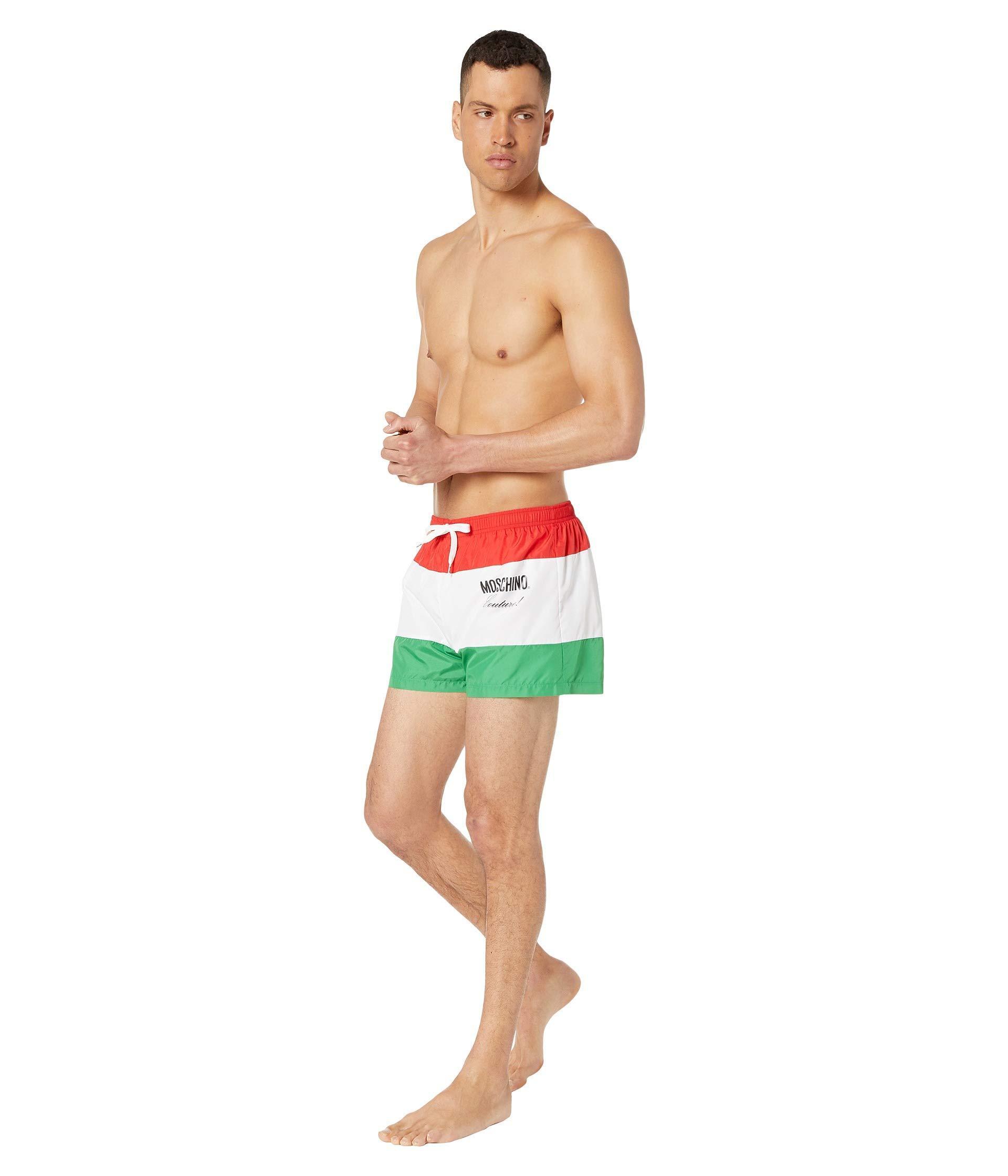 602a272d22 Moschino Italia Couture! Shorts (unique Colorway) Men's Swimwear for ...