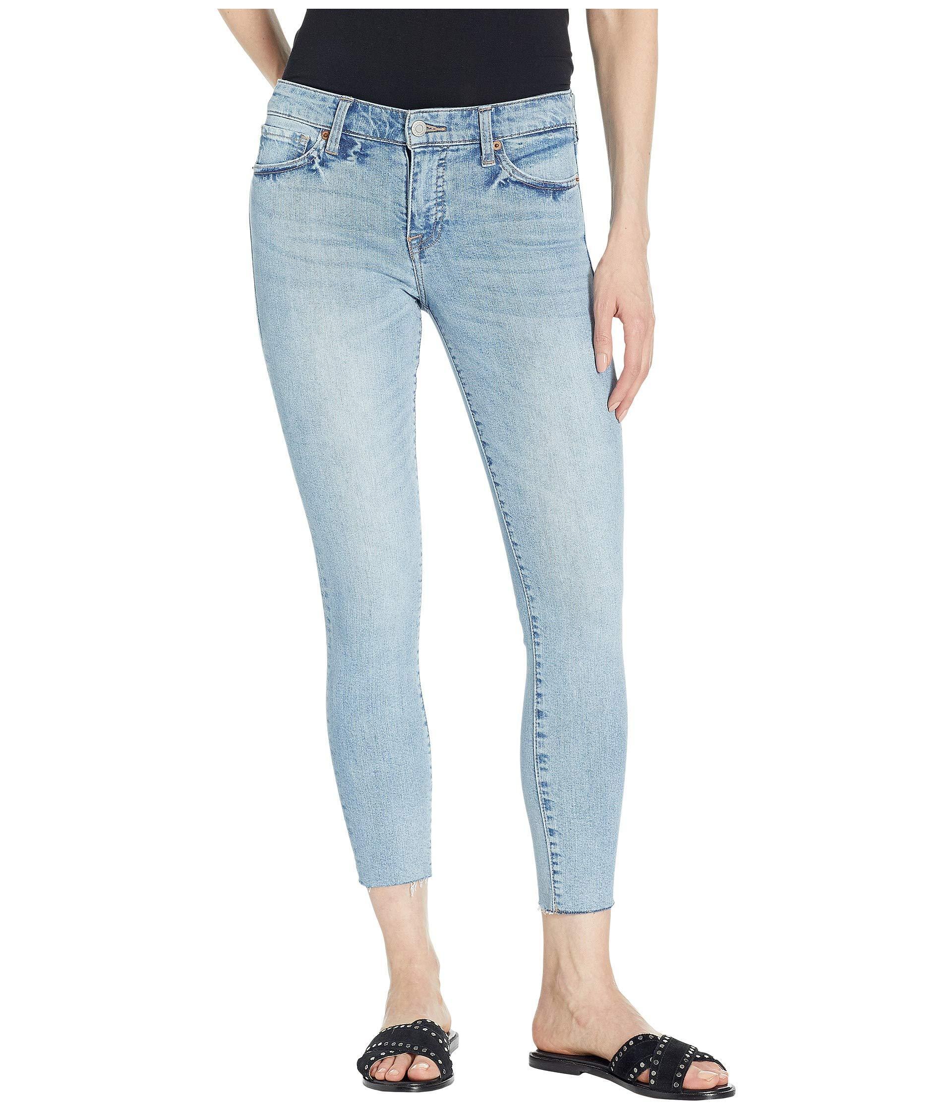 b88e7f3afa73e Lyst - Lucky Brand Ava Crop Jeans In Oneida (oneida) Women's Jeans ...