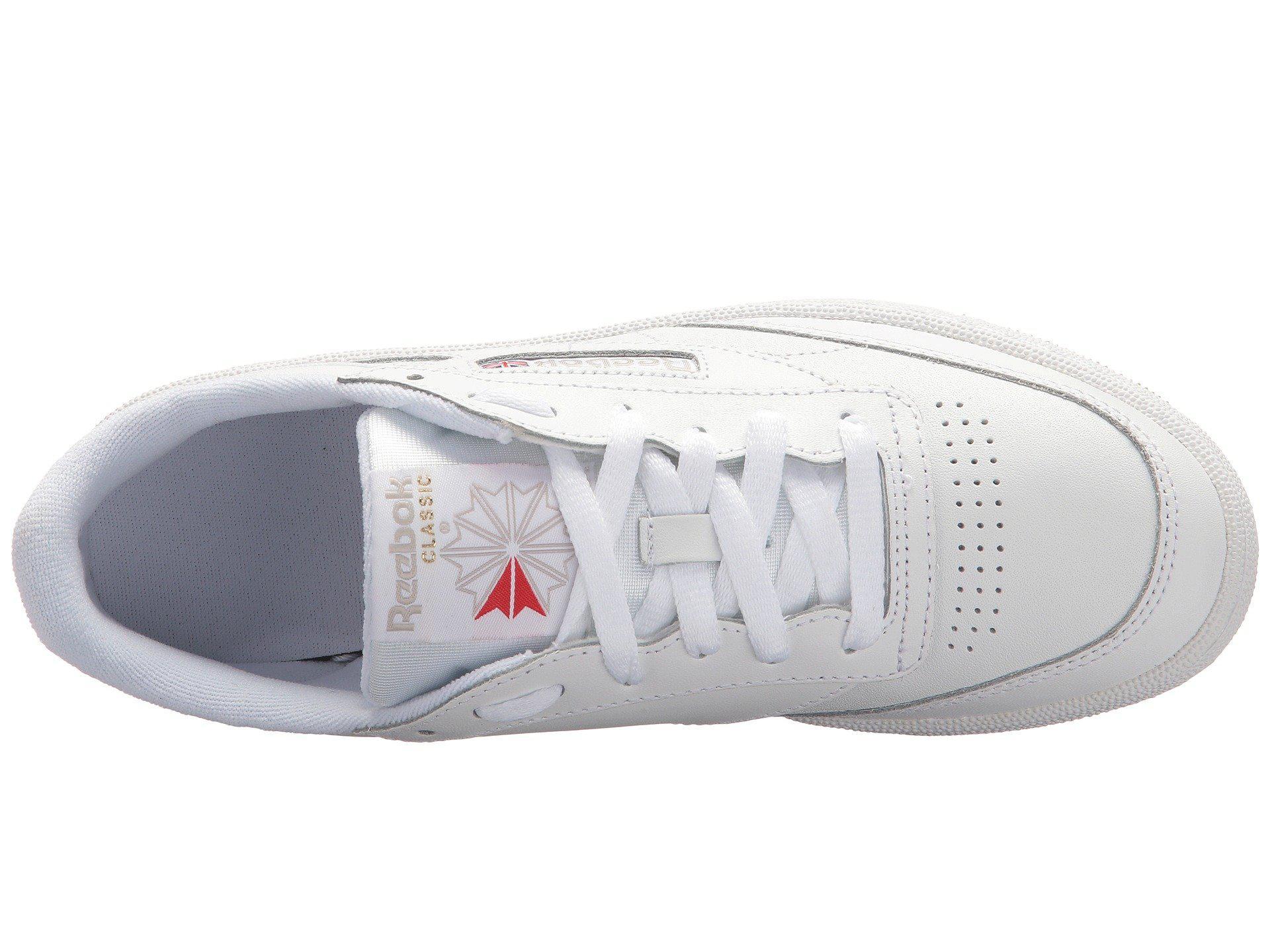 ce1325af83c Reebok - Multicolor Club C 85 (white light Grey gum) Women s Shoes. View  fullscreen