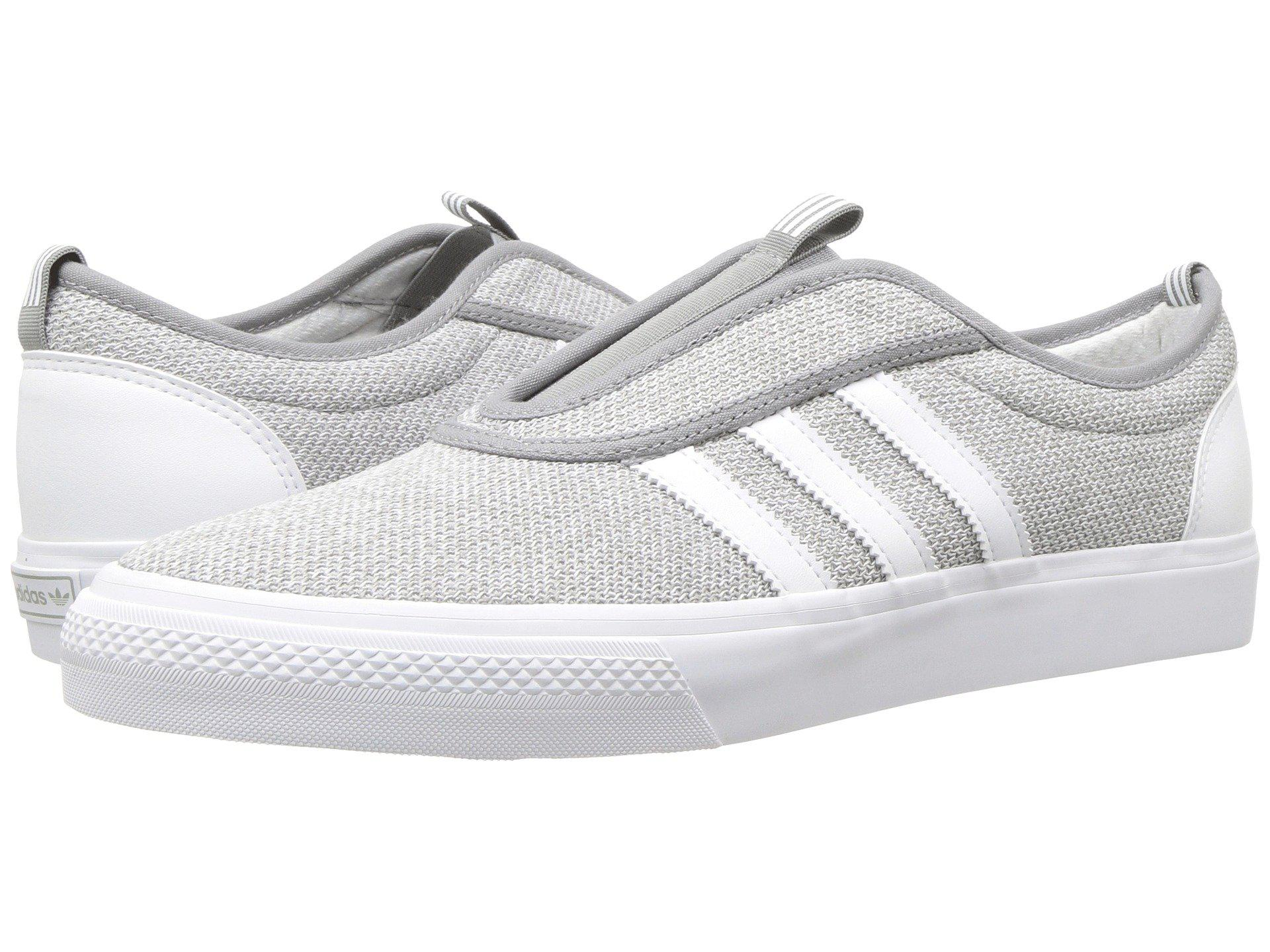 low priced d39cf 7d5f8 adidas Originals. Gray Adi-ease Kung-fu (charcoal Solid Grey footwear White  footwear White) Men s Skate Shoes