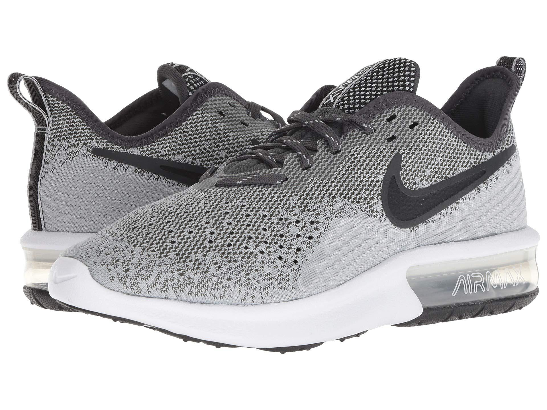 online store b4cc5 0acbc Nike. Air Max Sequent 4 (black black white) Women s Running Shoes