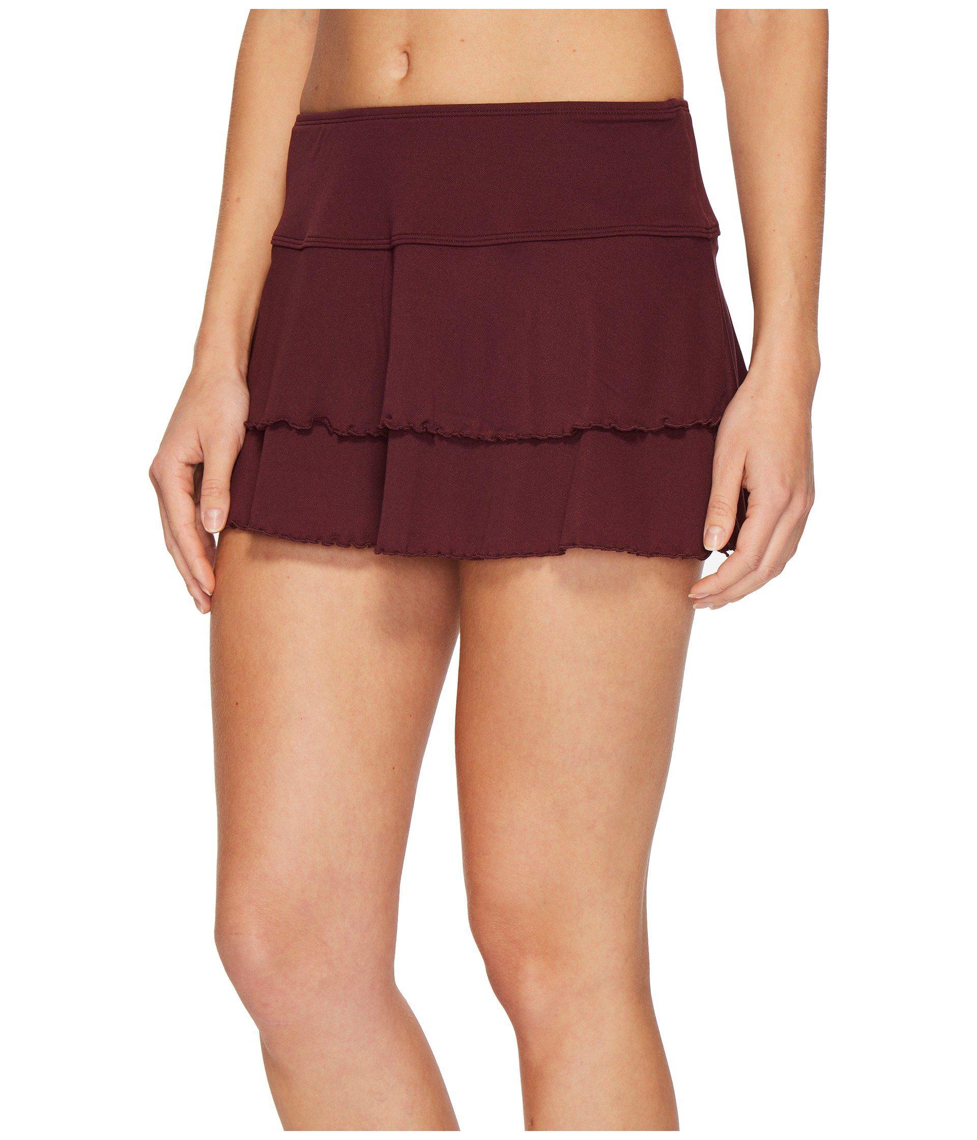 ffb5b014e Lyst - Body Glove Smoothies Lambada Skirt (magnolia) Women's Swimwear in Red