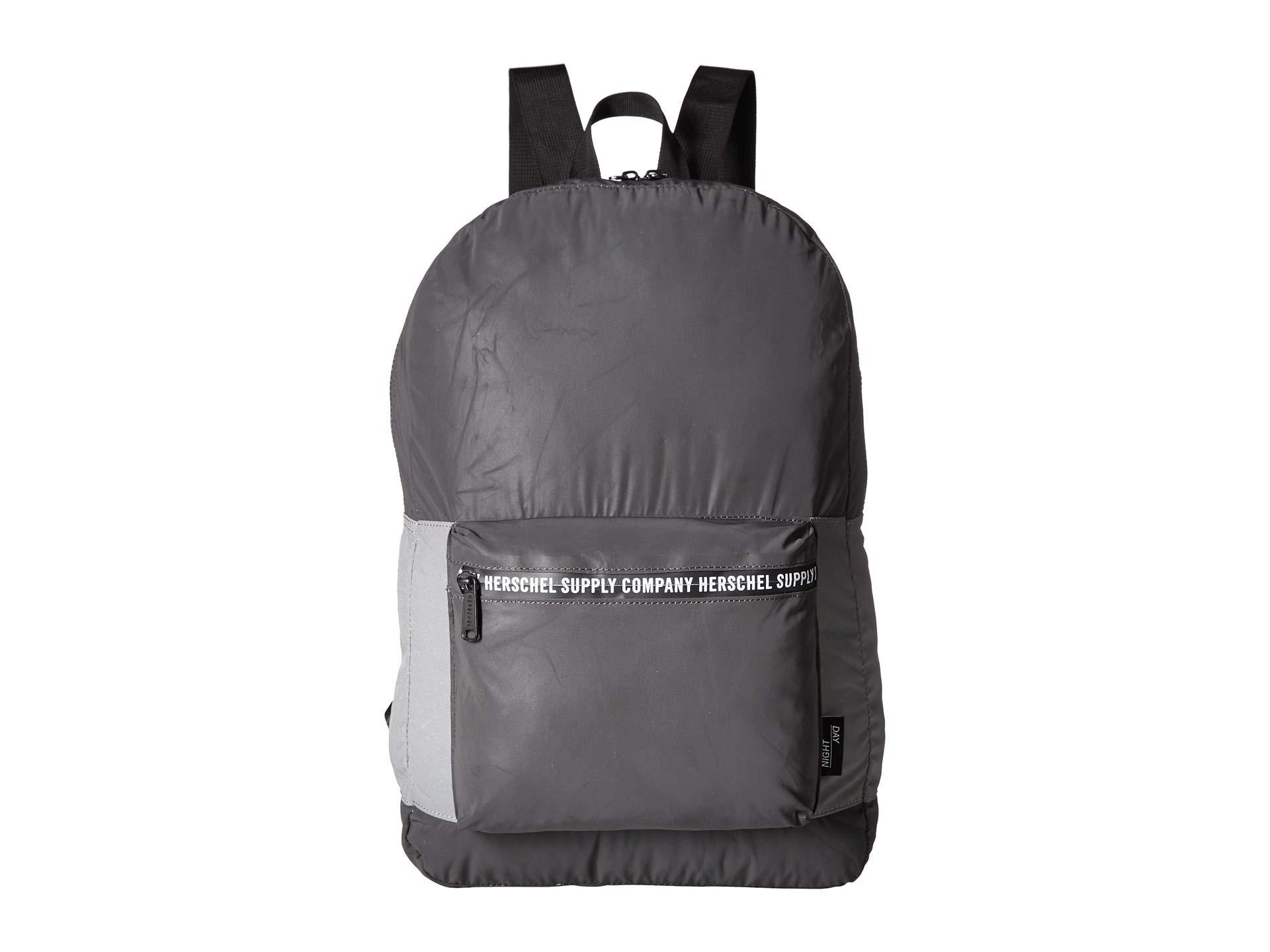 2287e9889c2 Lyst - Herschel Supply Co. Packable Daypack (black Reflective silver ...