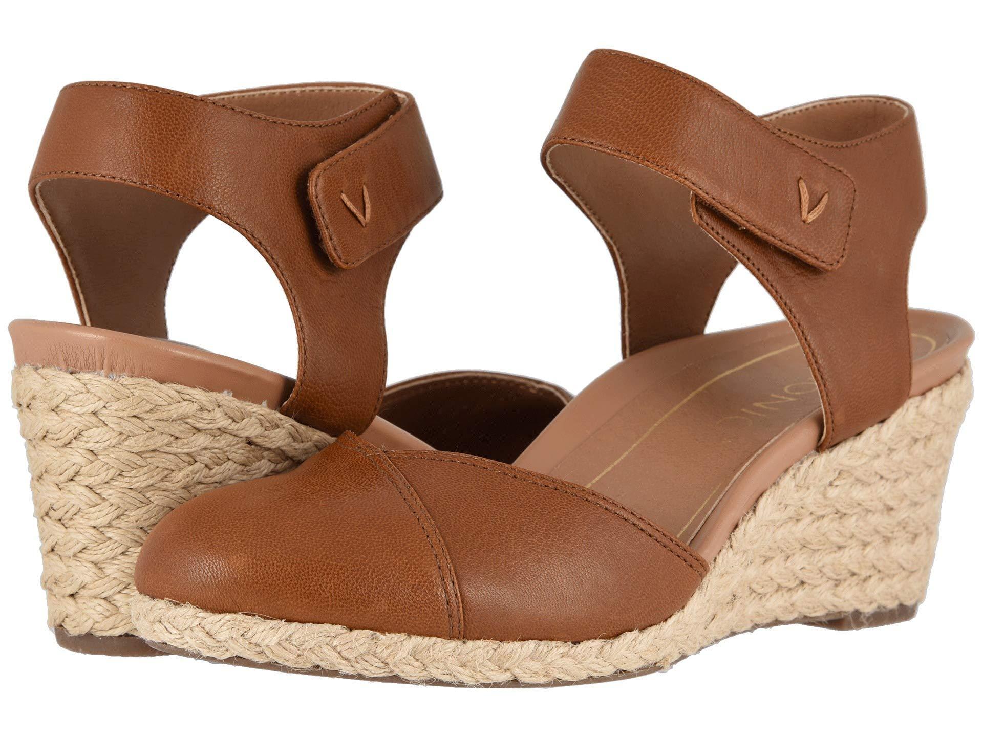 1b5ff07eda Vionic Loika (black) Women's Wedge Shoes in Brown - Lyst