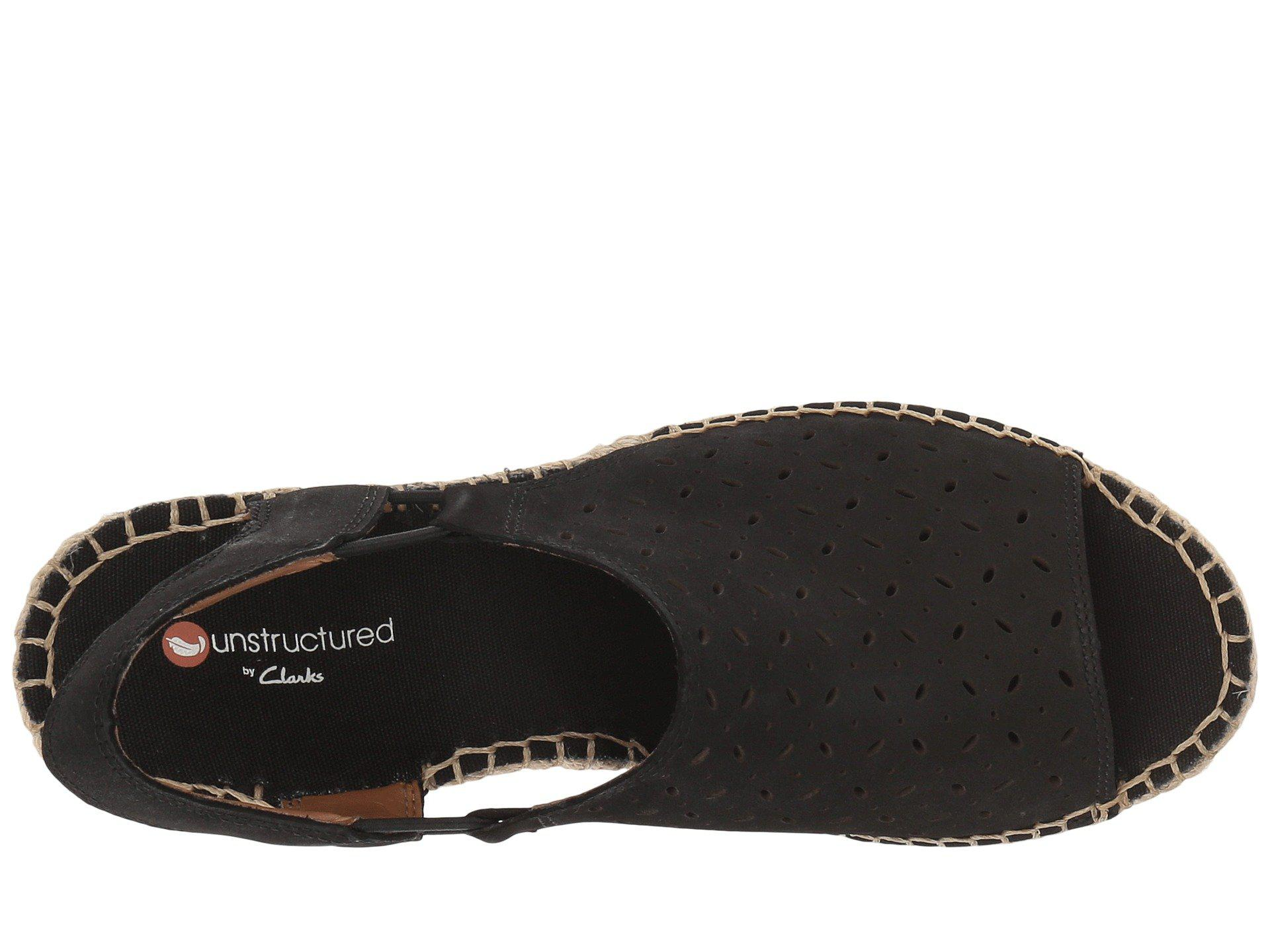 971dc96999e9 Clarks - Black Petrina Gail (gold Metallic Leather) Women s Shoes - Lyst.  View fullscreen
