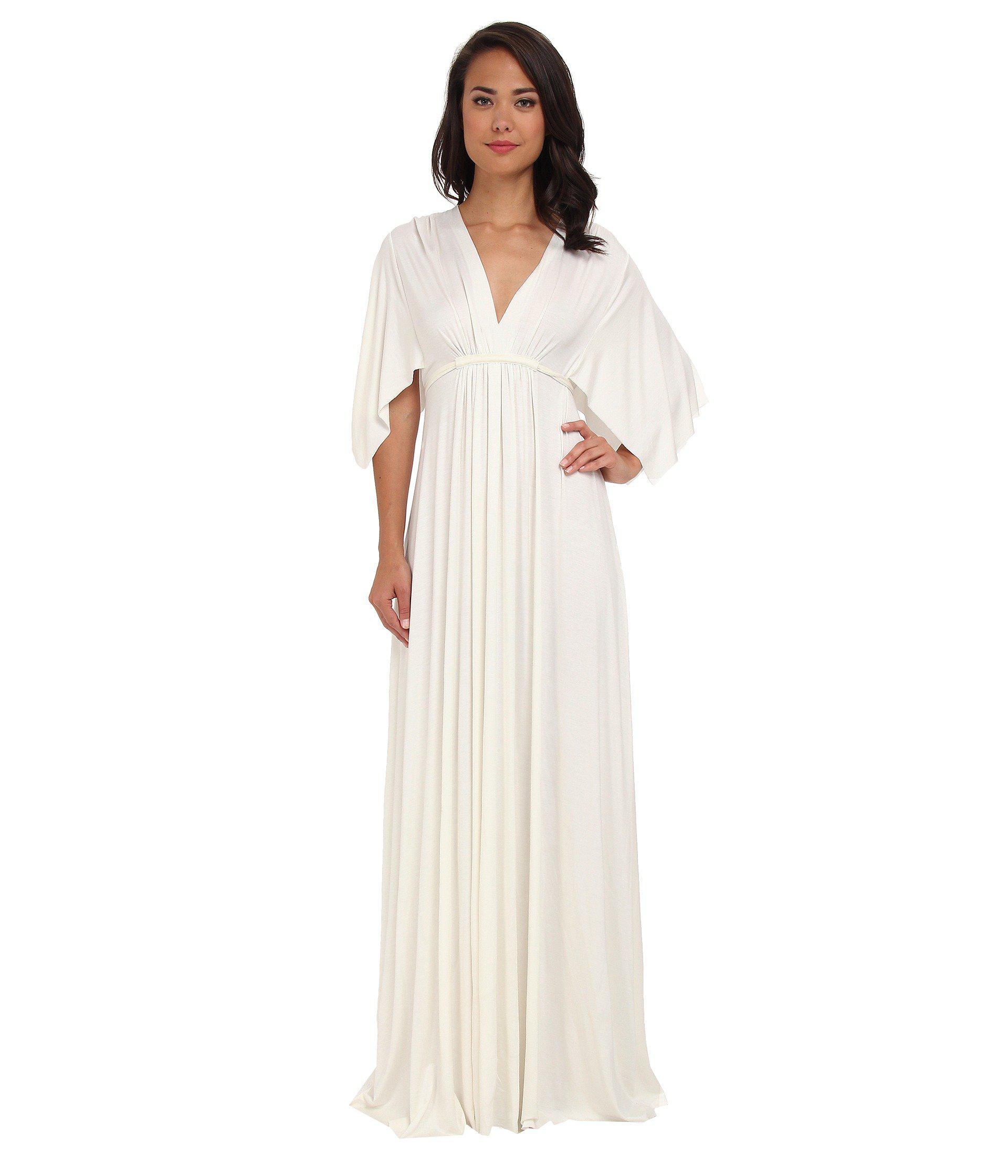 3f5ec3a6bc Lyst - Rachel Pally Long Caftan Dress (white) Women s Dress in White
