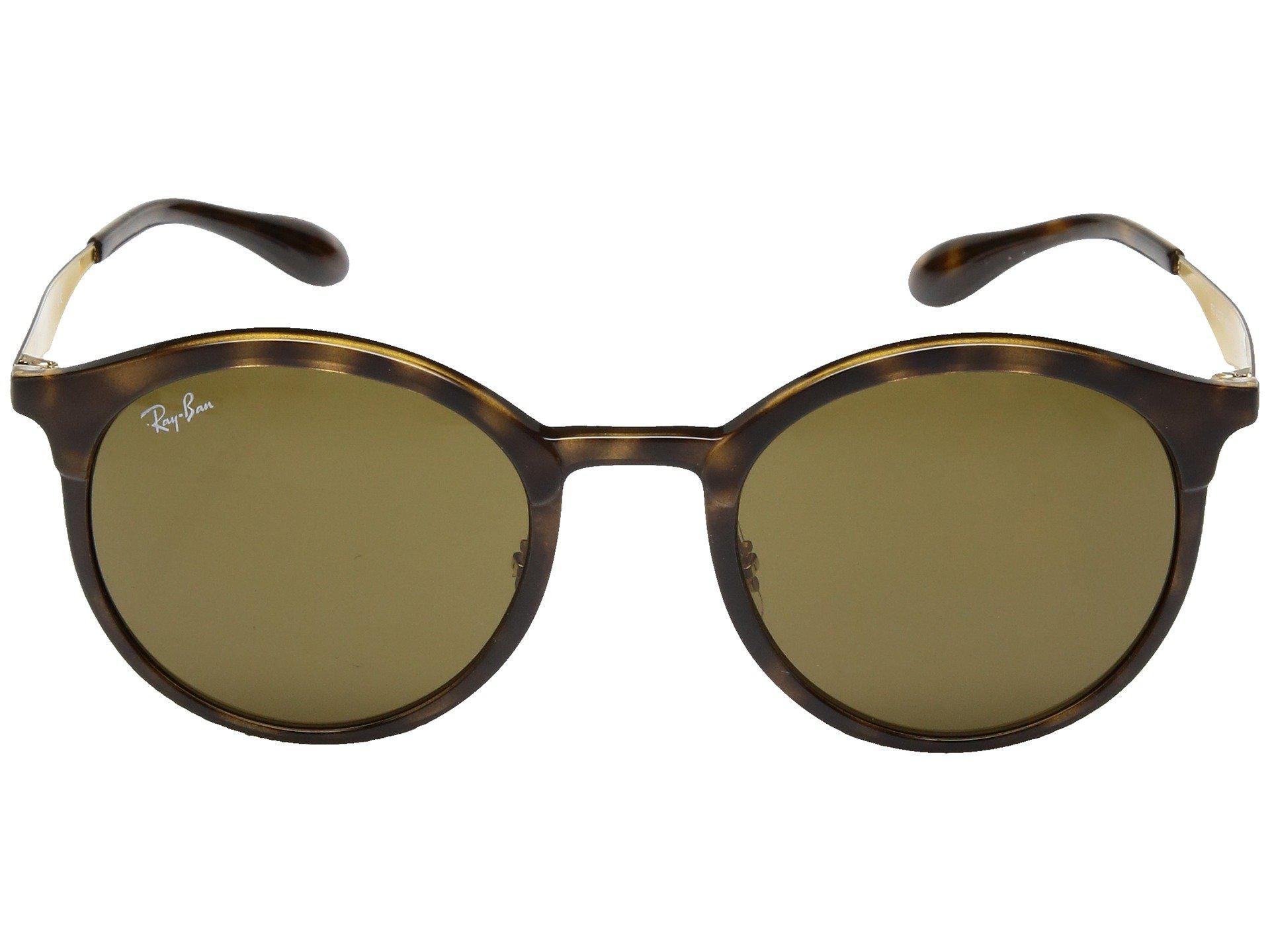002784b44b Ray-Ban - Rb4277 Emma 51mm (havana dark Brown) Fashion Sunglasses -. View  fullscreen