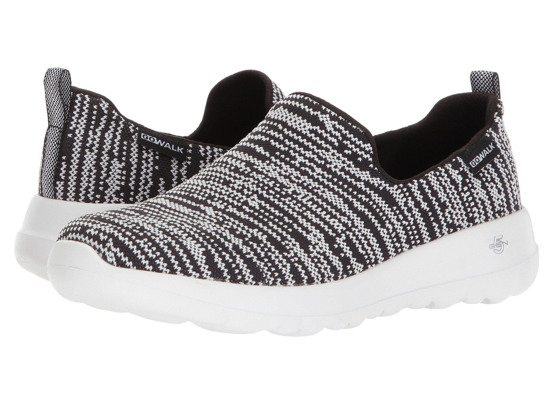 81e334e36399 Lyst - Skechers Go Walk Joy - 15602 (black gray) Women s Shoes in Black