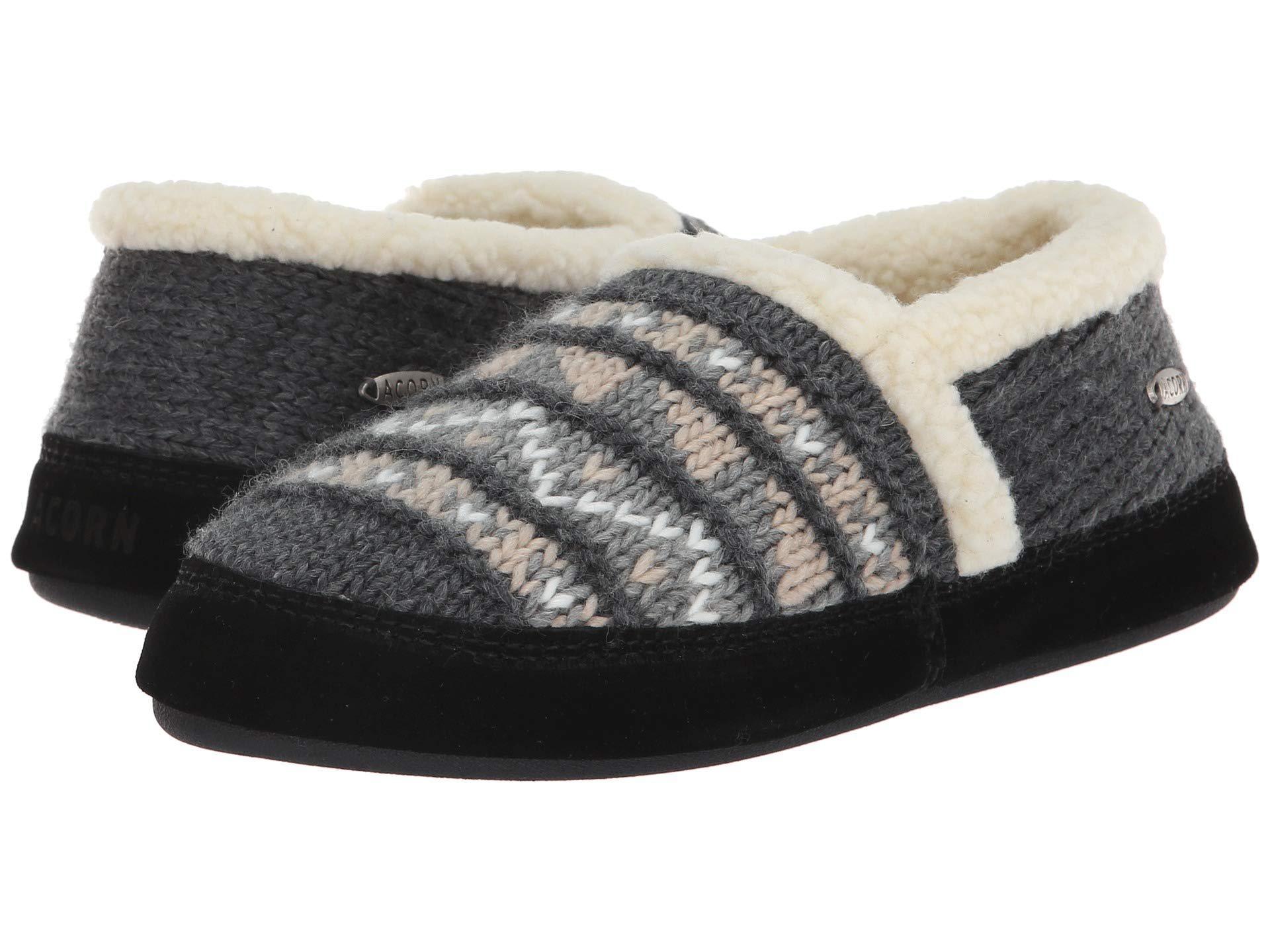2070684483b4a Lyst - Acorn Nordic Moc (nordic Grey) Women s Slippers in Gray