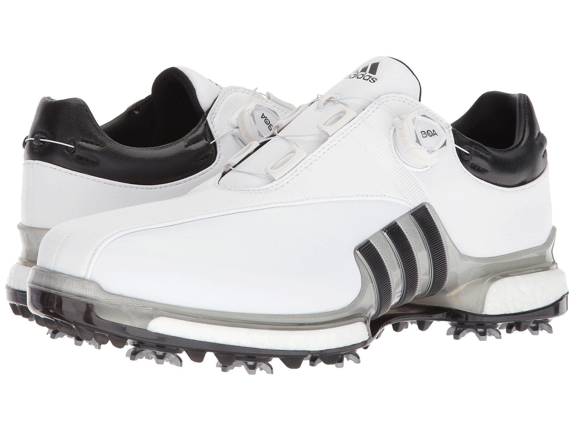 f7916c6a4e7e adidas Originals. Tour360 Eqt Boa (footwear White silver Metallic core Black)  Men s Golf Shoes