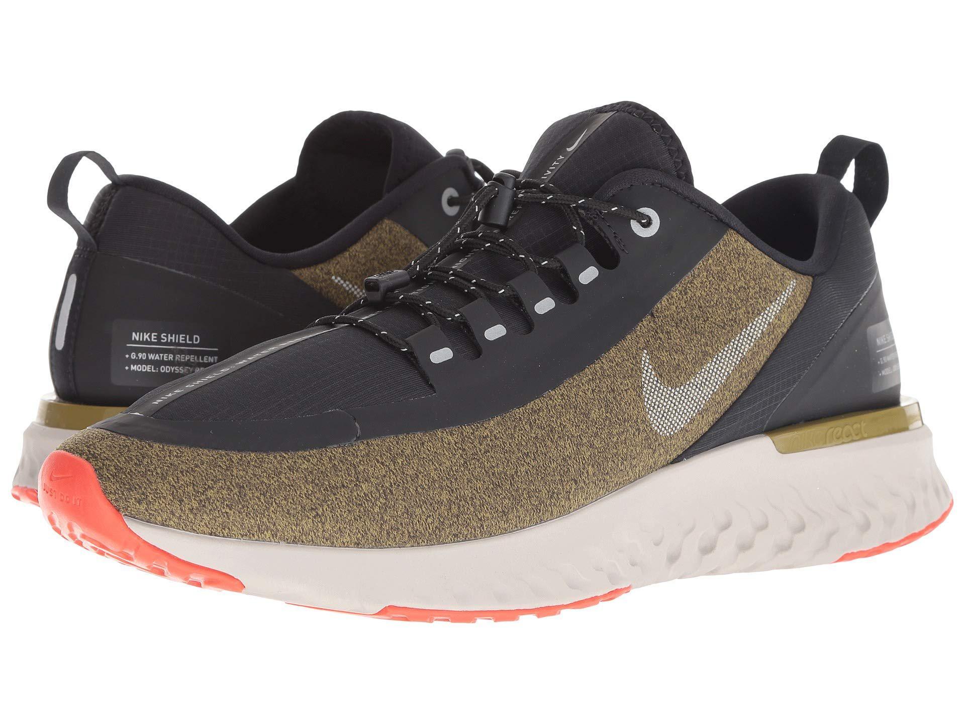 d7787f5b3 Nike Odyssey React Shield (black/anthracite/anthracite/dark Grey ...