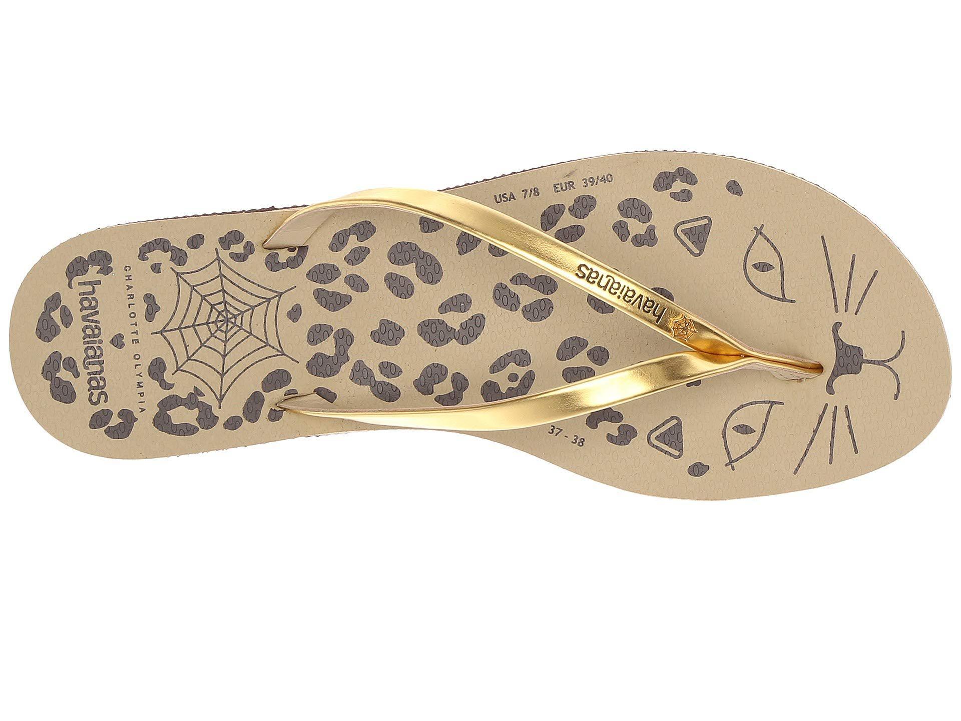 b9041ba43b9e Charlotte Olympia - Cat Flip-flop (open Brown) Women s Sandals - Lyst. View  fullscreen
