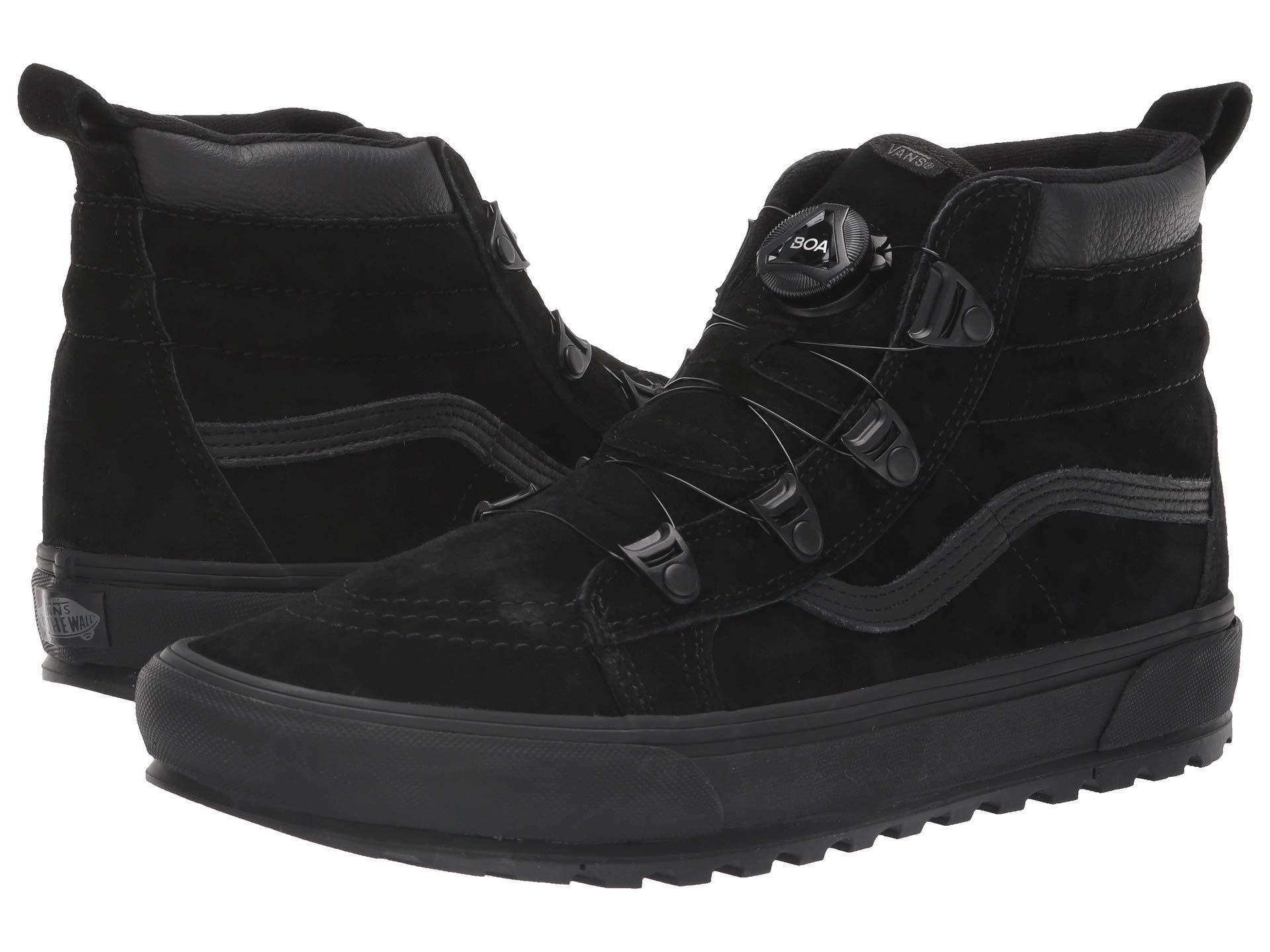 8a2a1c1e252832 Lyst - Vans Sk8-hi Mte Boa (black) Shoes in Black for Men