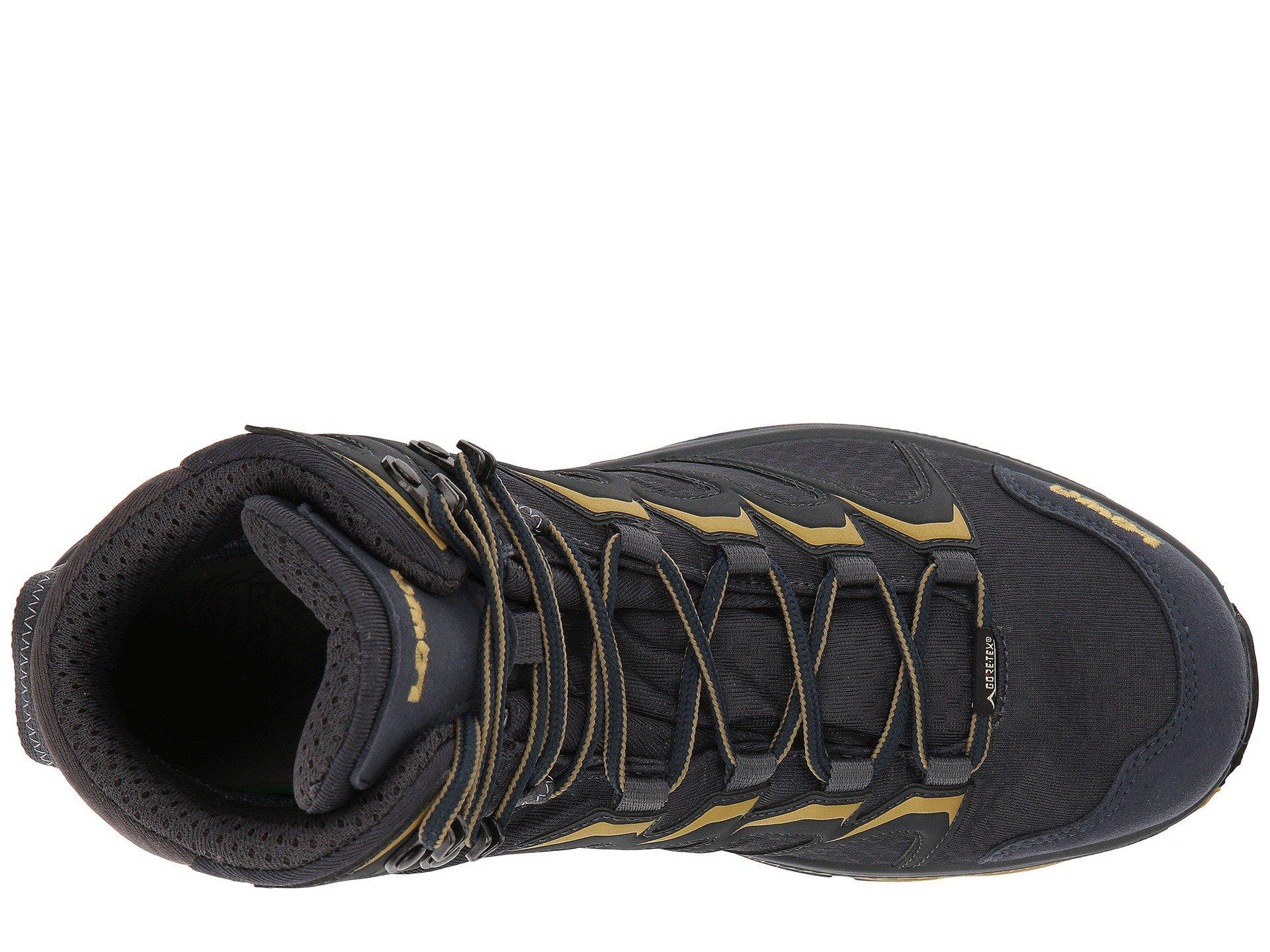 Lyst - Lowa Innox Gtx Mid (steel Blue mustard) Men s Hiking Boots in ... 4b6c6456763