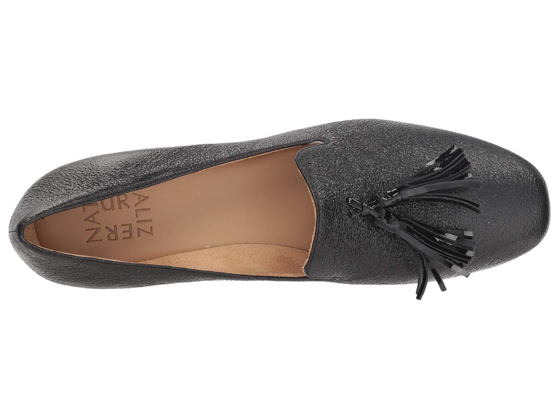 ff9ffaf4507 Naturalizer - Multicolor Elly (black Sparkle Metallic Leather) Women s Flat  Shoes - Lyst. View fullscreen
