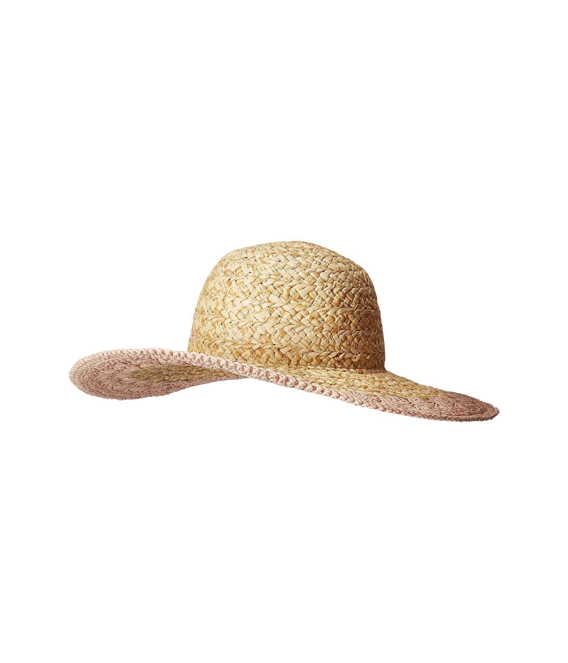1c97fc18 Lyst - San Diego Hat Company Pbl3203 - Paper Straw Hat With Crotchet ...