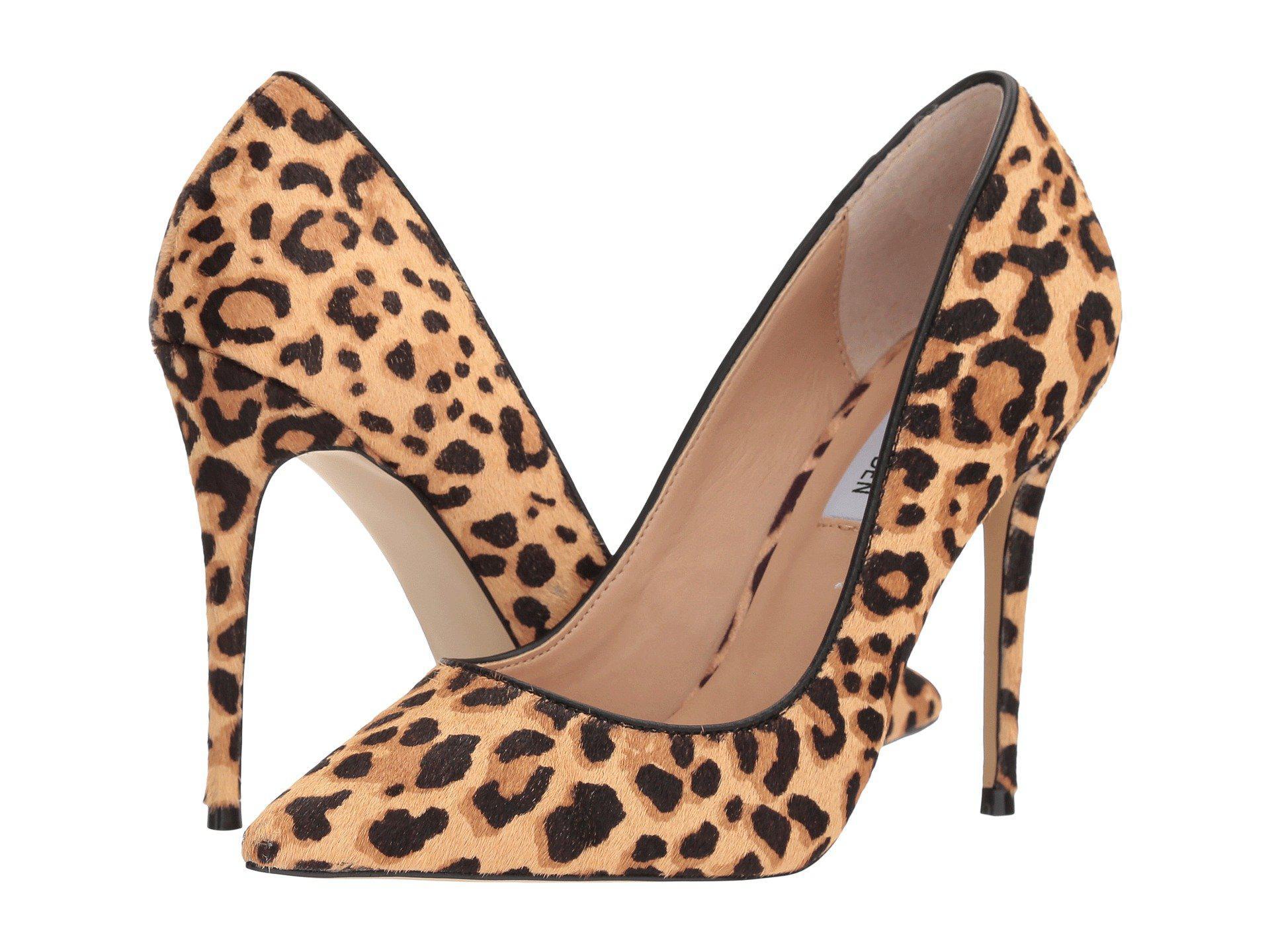 4094147f86f Lyst - Steve Madden Daisie-l Pump (leopard) High Heels in Brown ...