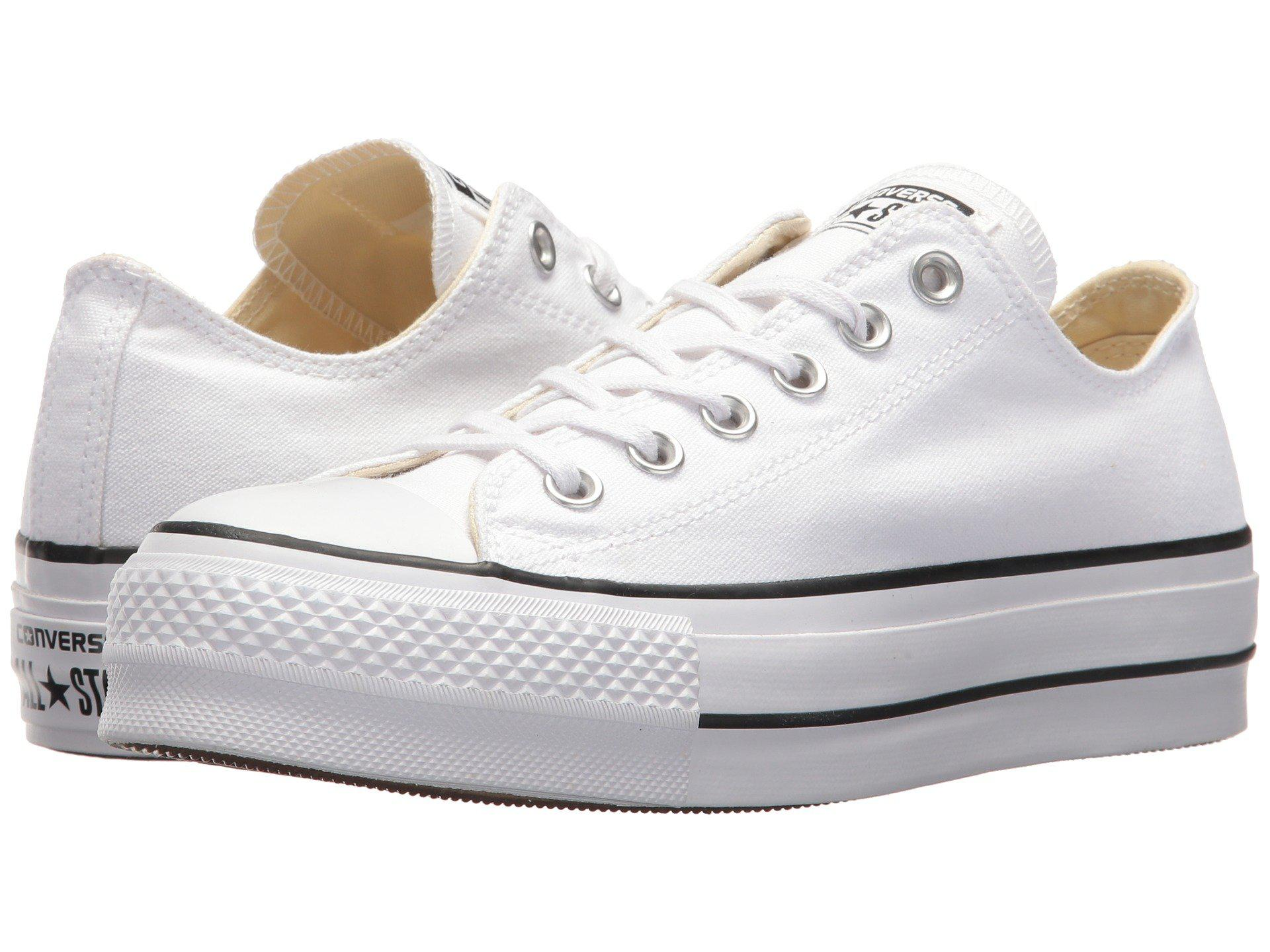 Lyst - Converse Chuck Taylor All Star Lift Ox in White - Save 25.0% d8ef4ef0b1524