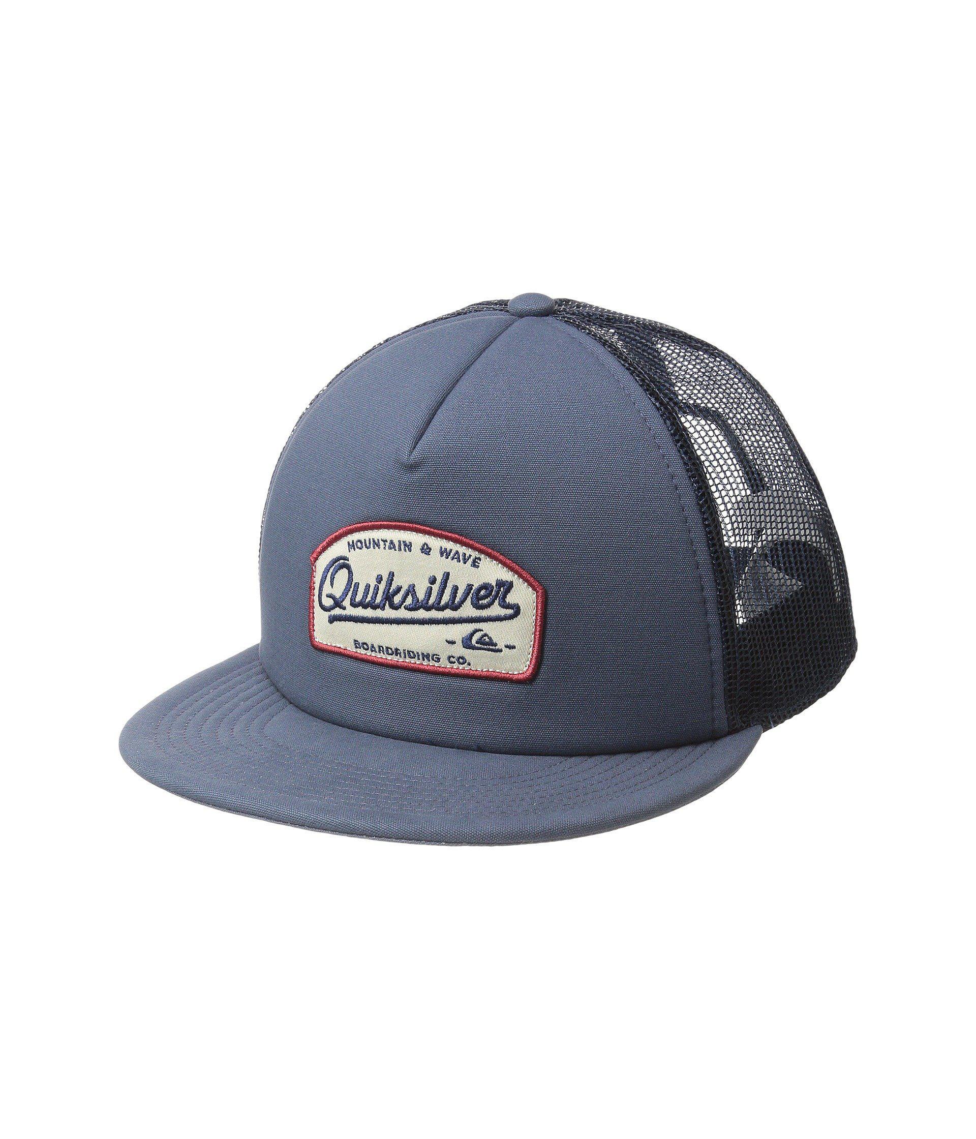 outlet store 86e7d 2ad29 Quiksilver - Blue Past Checker Cap (black) Baseball Caps for Men - Lyst.  View fullscreen