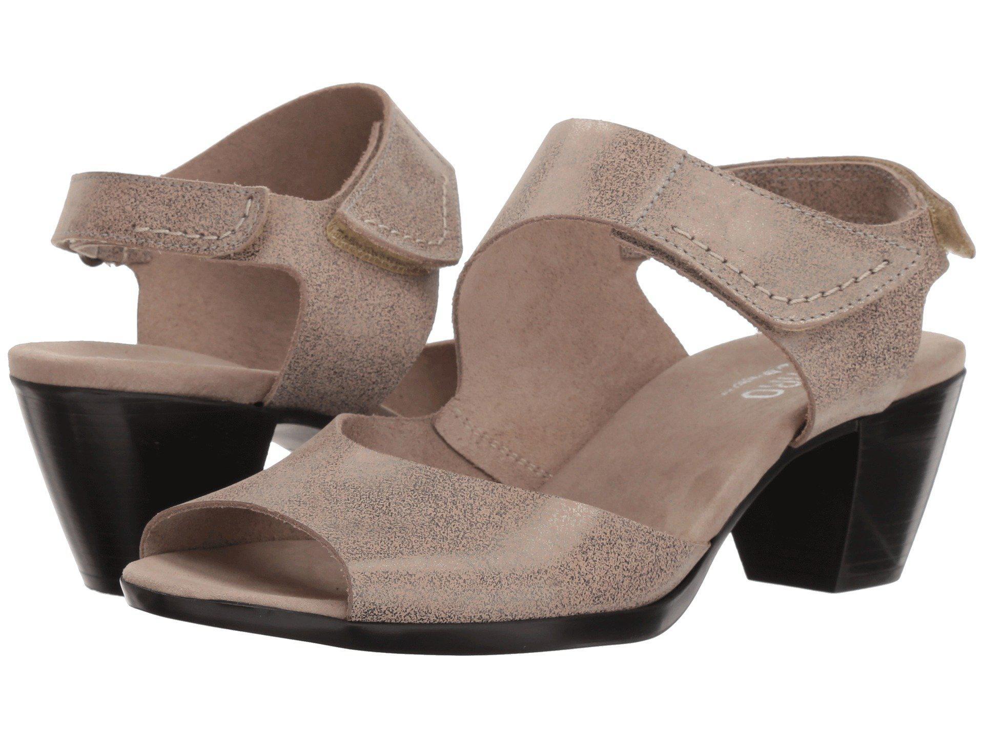 c27107f85d5 Lyst - Munro Fabiana (black Nubuck) Women s Sandals