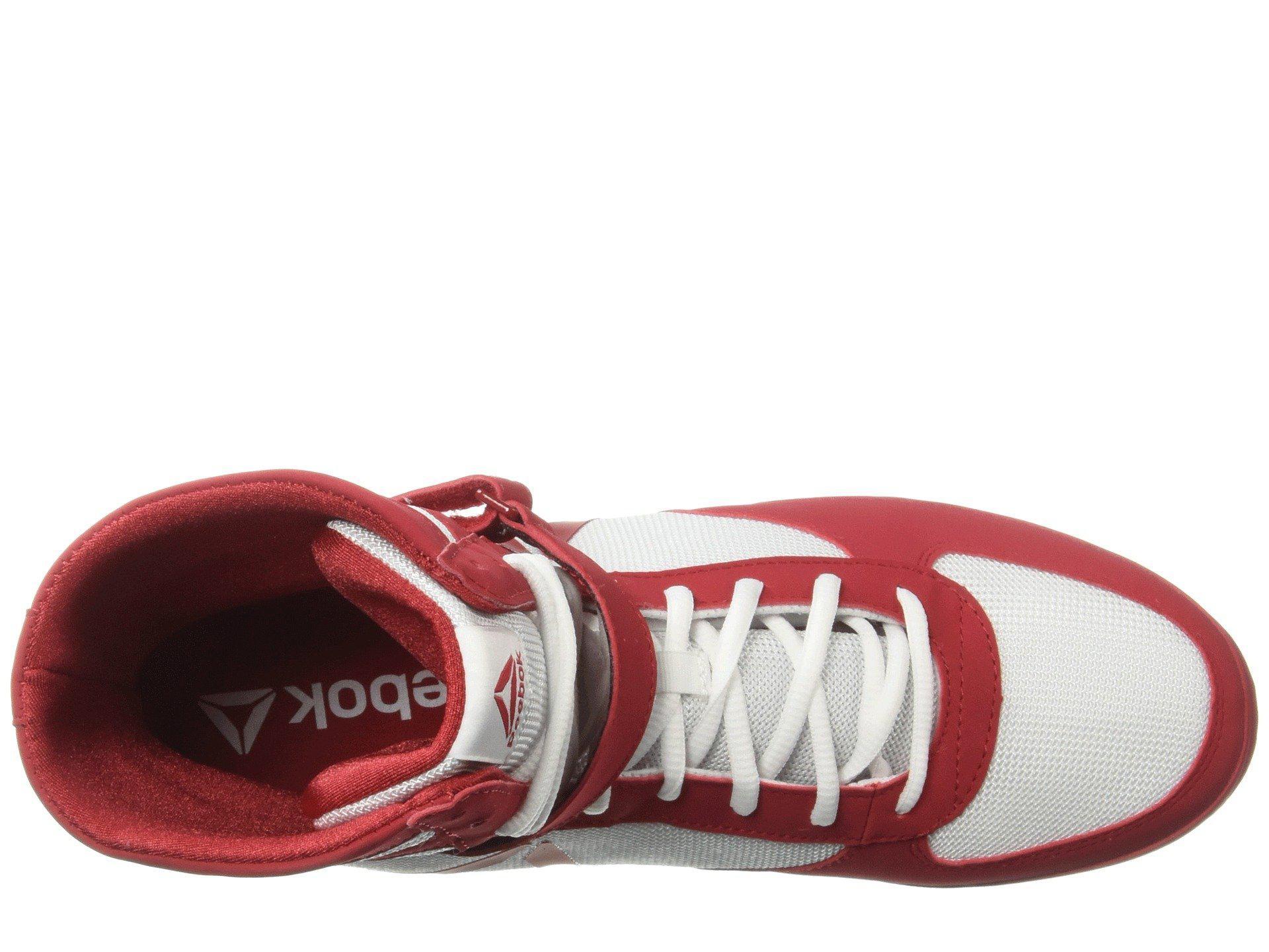 7829de5b222 Lyst - Reebok Boxing Boot - Buck (black white) Men s Shoes in Red ...