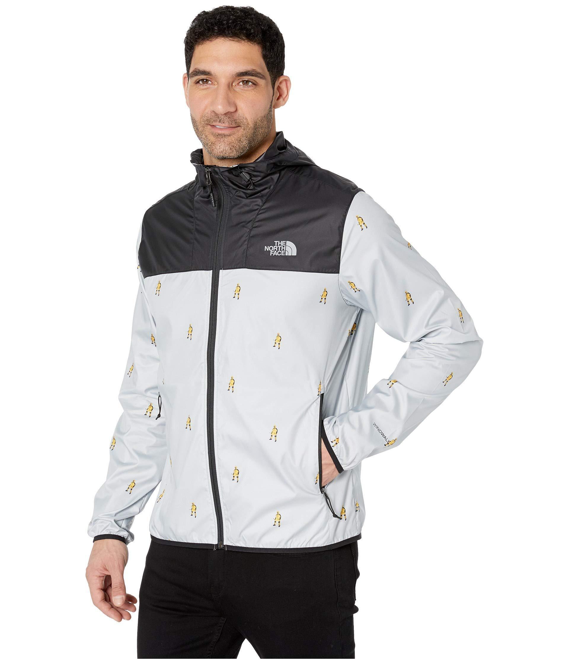 32ec7154c964 The North Face. Gray Printed Cyclone Hoodie (tnf Black Tossed Logo Print)  Men s Sweatshirt