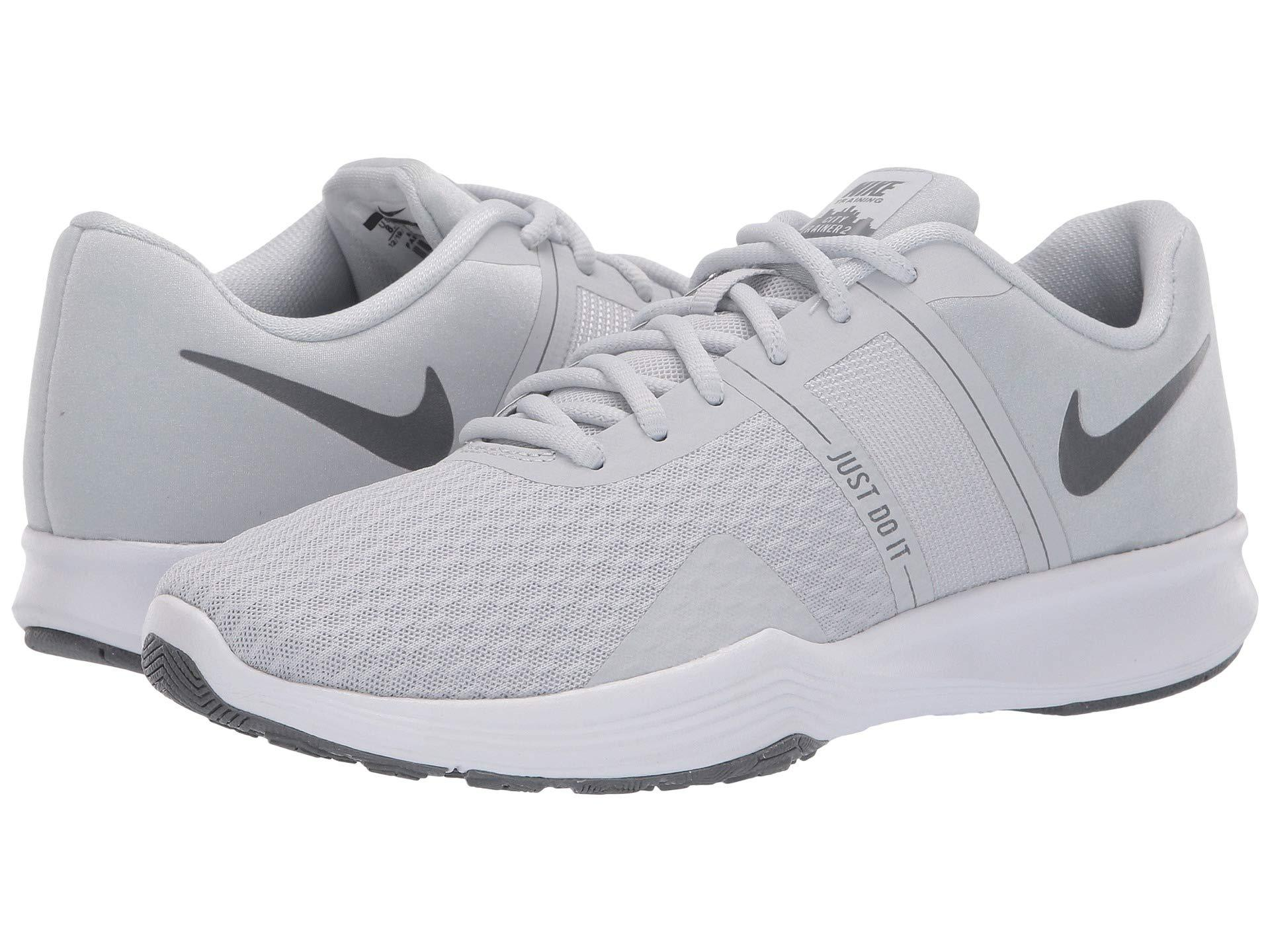 Nike. Gray City Trainer 2 (plum Dust barely Grey atmosphere Grey) Women s  Cross Training Shoes 6a9dca573