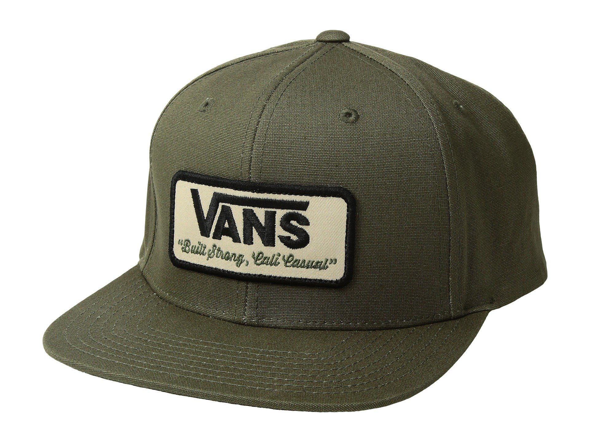 a5c84c50667 Lyst - Vans Rowley Snapback (grape Leaf) Caps in Green for Men