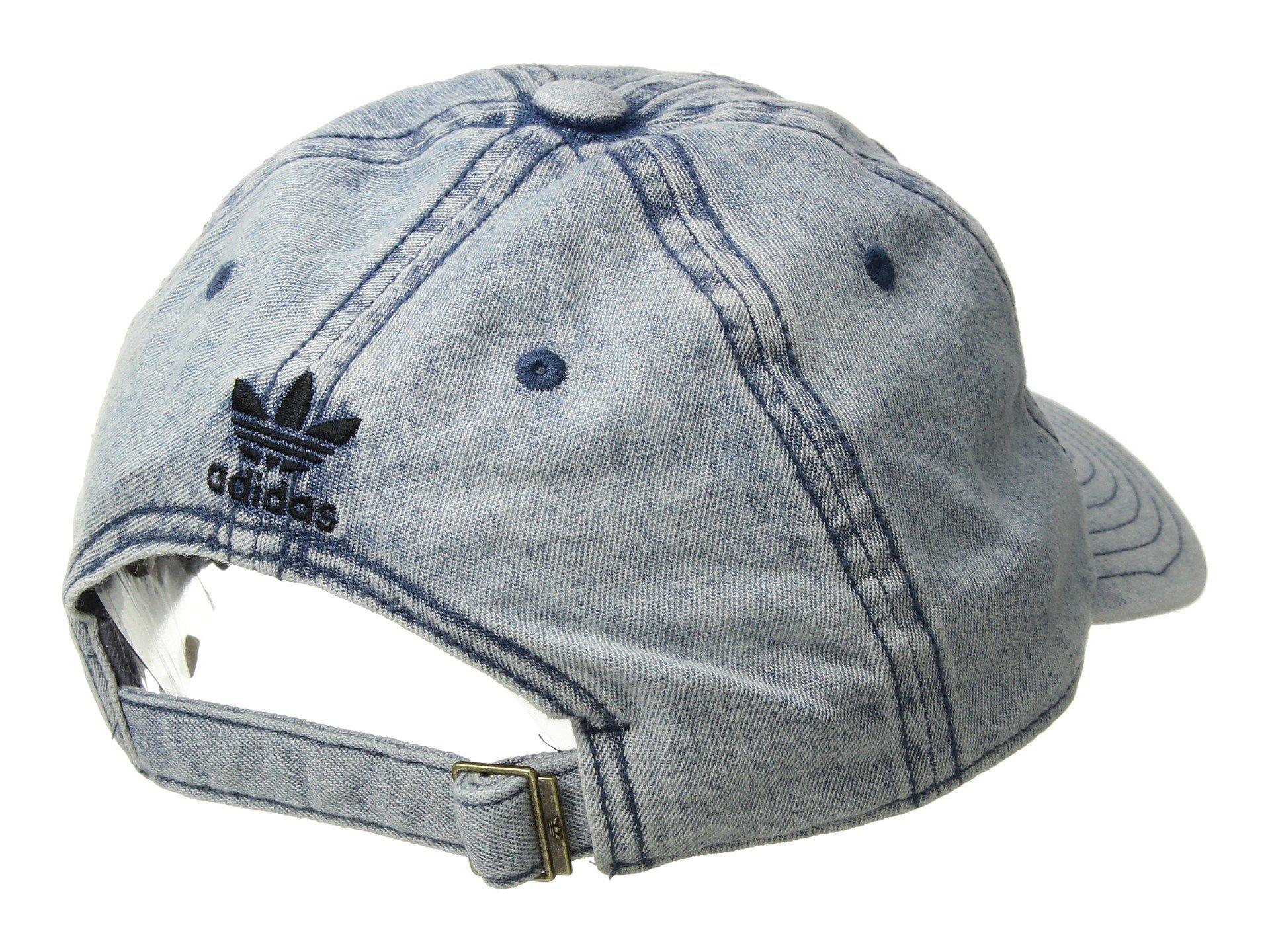 4ecdc89e2e1 Lyst - adidas Originals Originals Relaxed Denim Cap (washed Blue ...