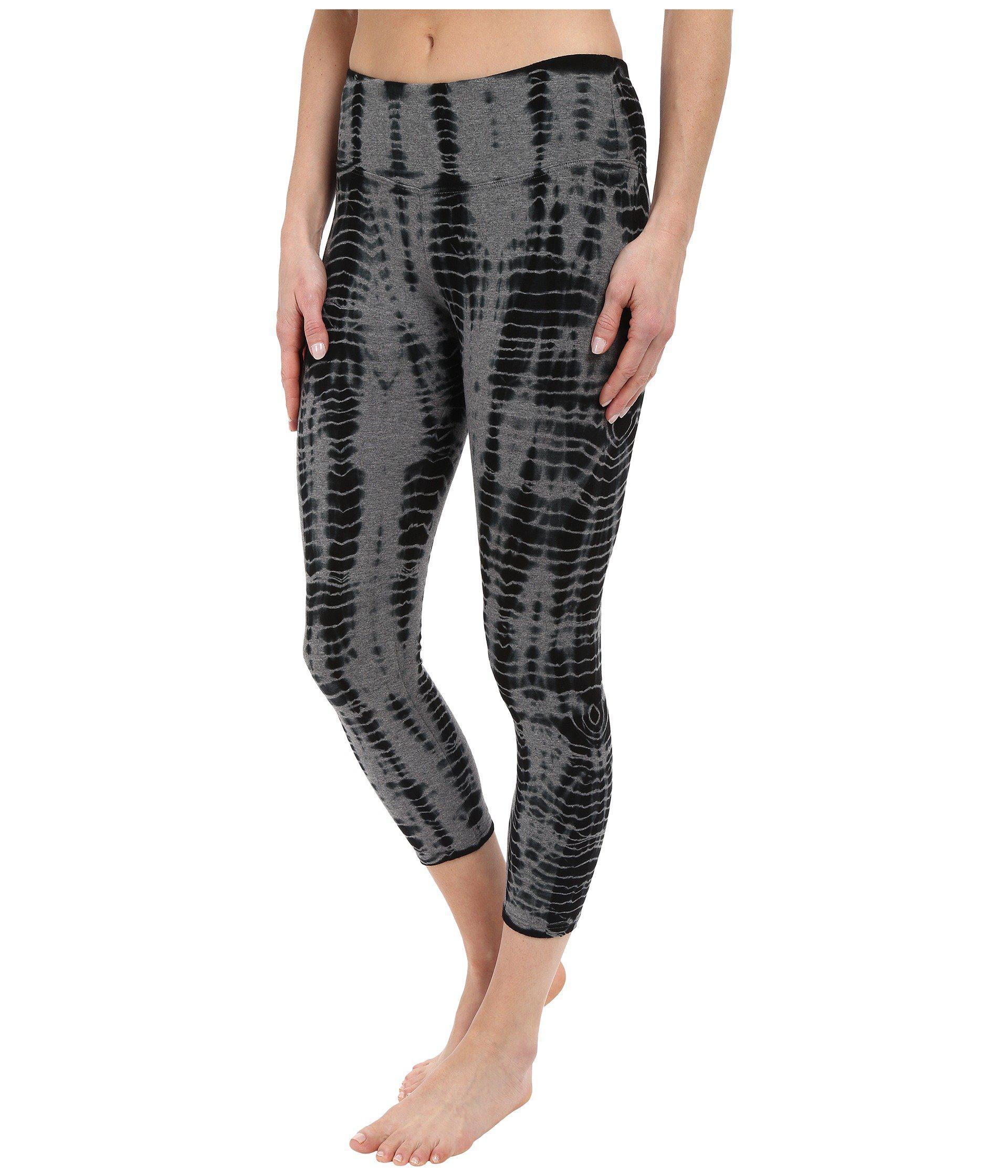 495eb219f2c8e Lyst - Hard Tail Flat Waist Capri Leggings (all Over Lizard 1) Women's  Workout in Black