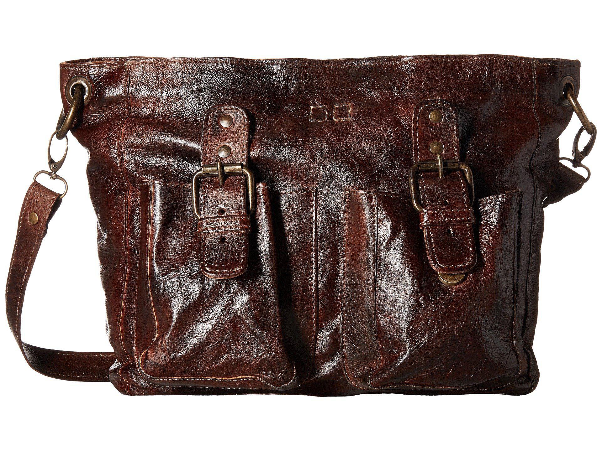 Bed Stu Women S Brown Parton Teak Rustic Handbags