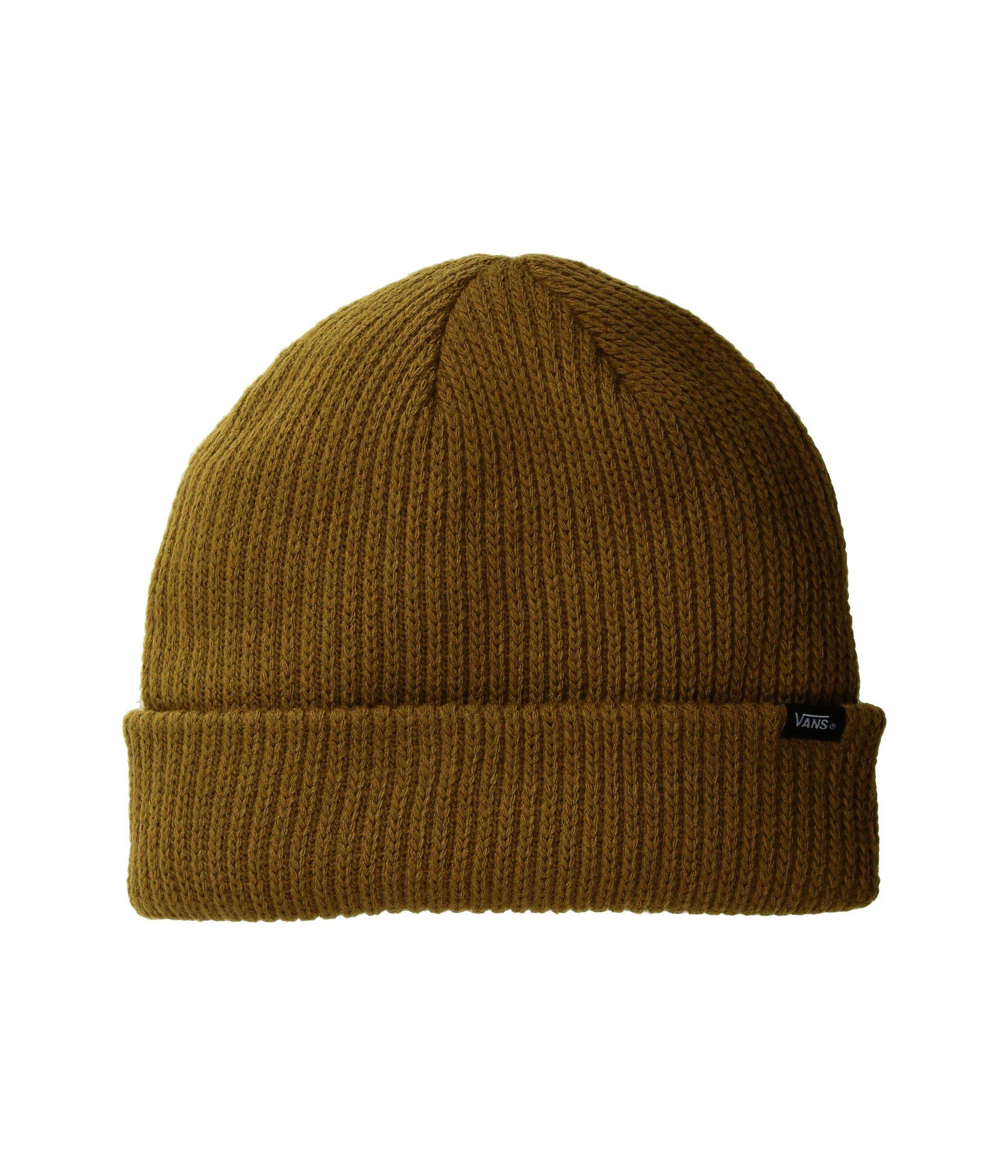 05cce2b3edf Lyst - Vans Core Basics Beanie in Green for Men