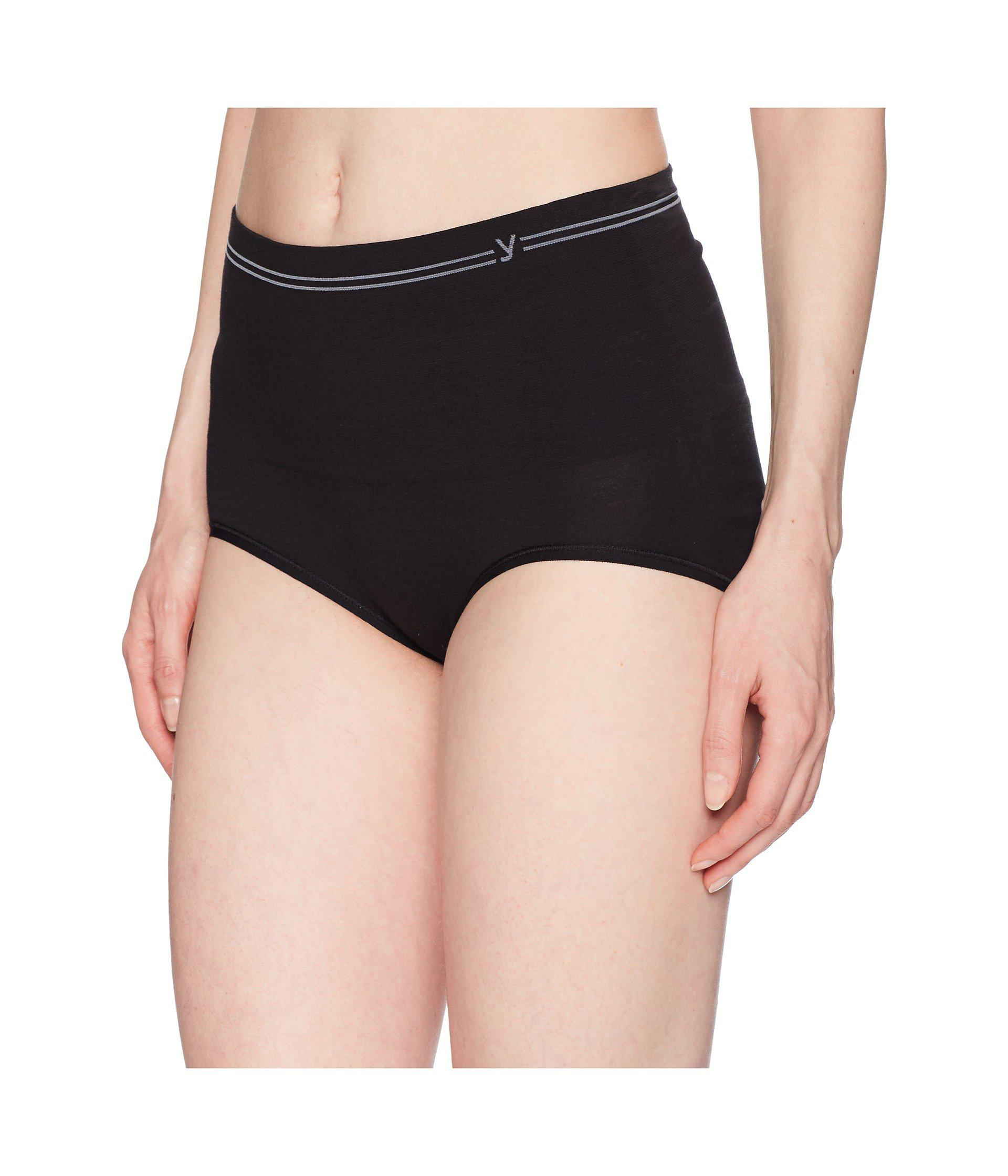 d6cc16c5d863 Lyst - Yummie Cotton Seamless Shaping Brief (white) Women's Underwear in  Black