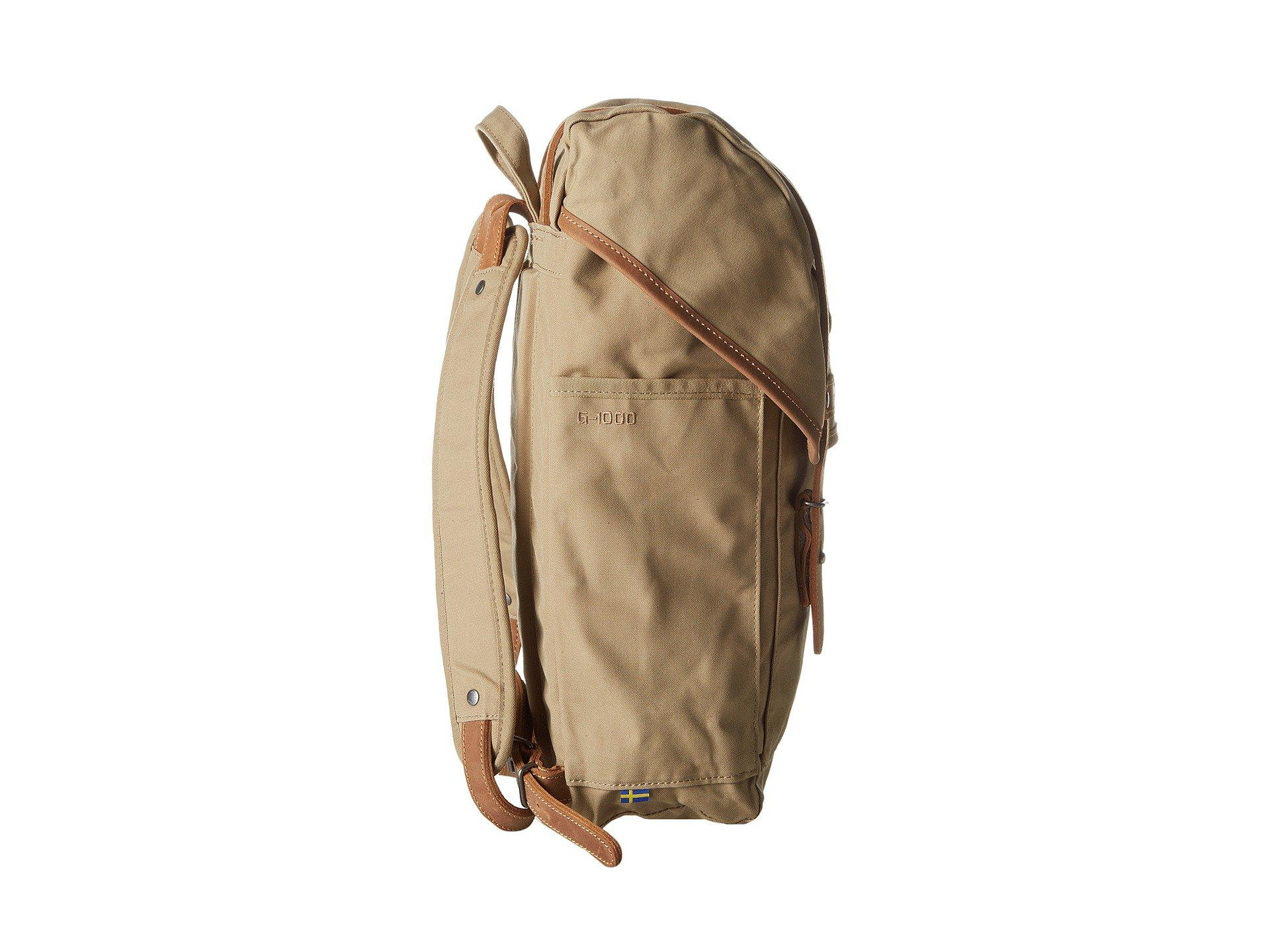 Lyst - Fjallraven Rucksack No. 21 Small (sand) Backpack Bags in ... 3c20bf6b22227