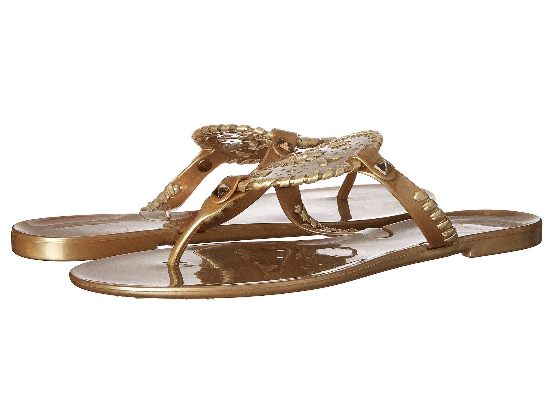 97efb5b68a5f Lyst - Jack Rogers Georgica Jelly (gold) Women s Sandals in Metallic
