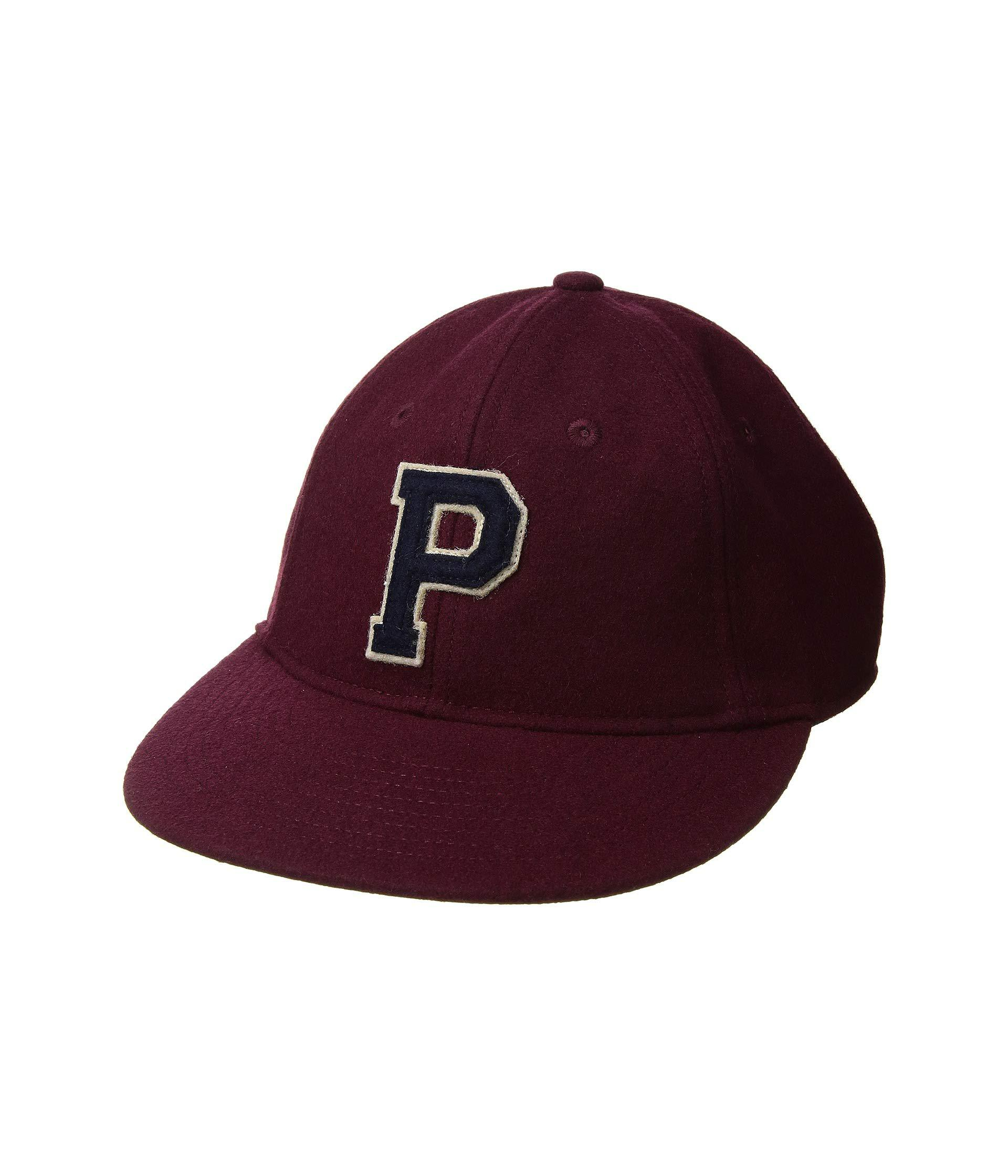 Lyst - Polo Ralph Lauren Wool Baseball Hat (grey Heather) Caps for Men ecf5a489f691
