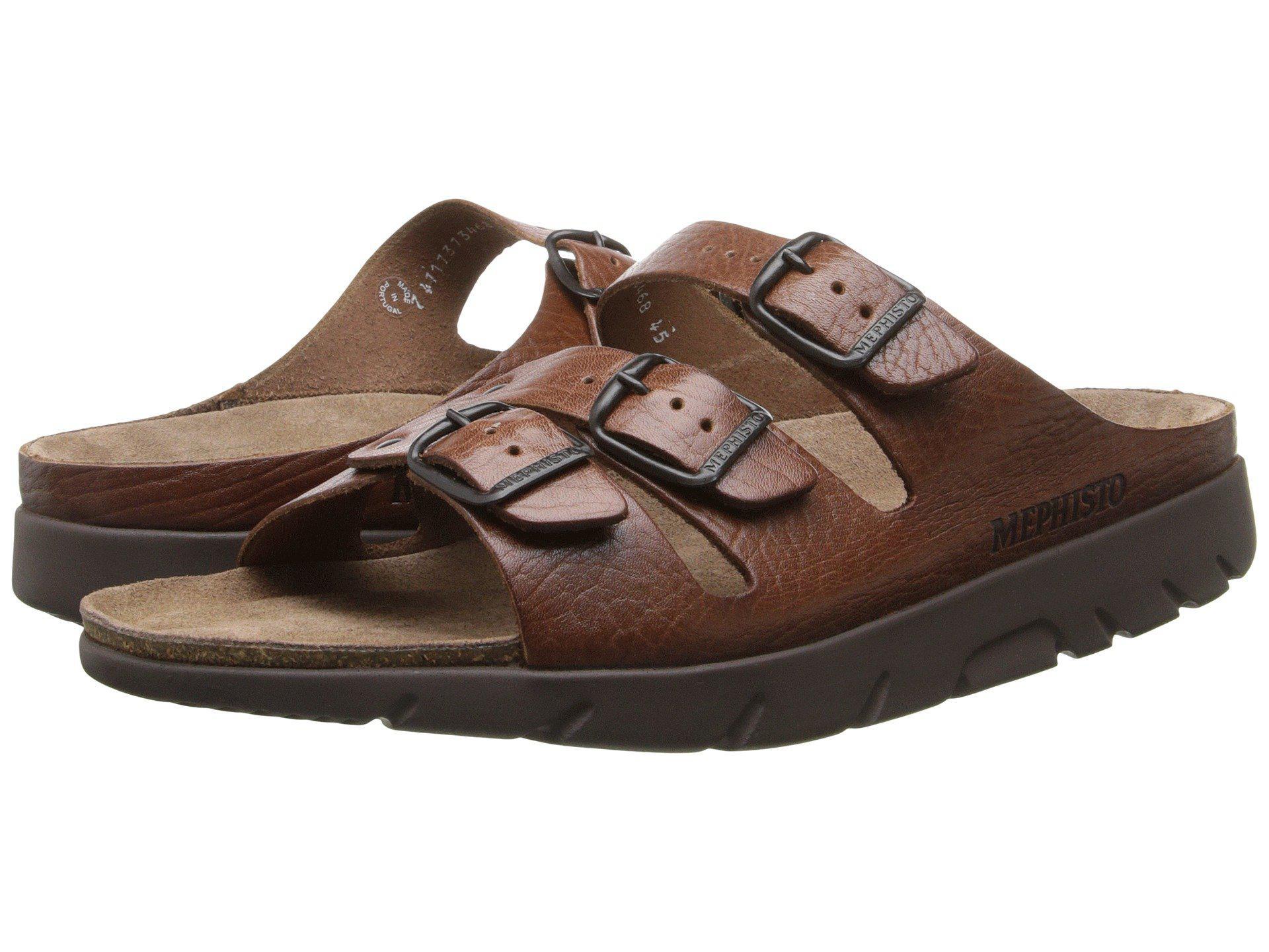 c404fda8d26c Mephisto - Brown Zach (tan Full Grain Leather) Men s Sandals for Men -  Lyst. View fullscreen