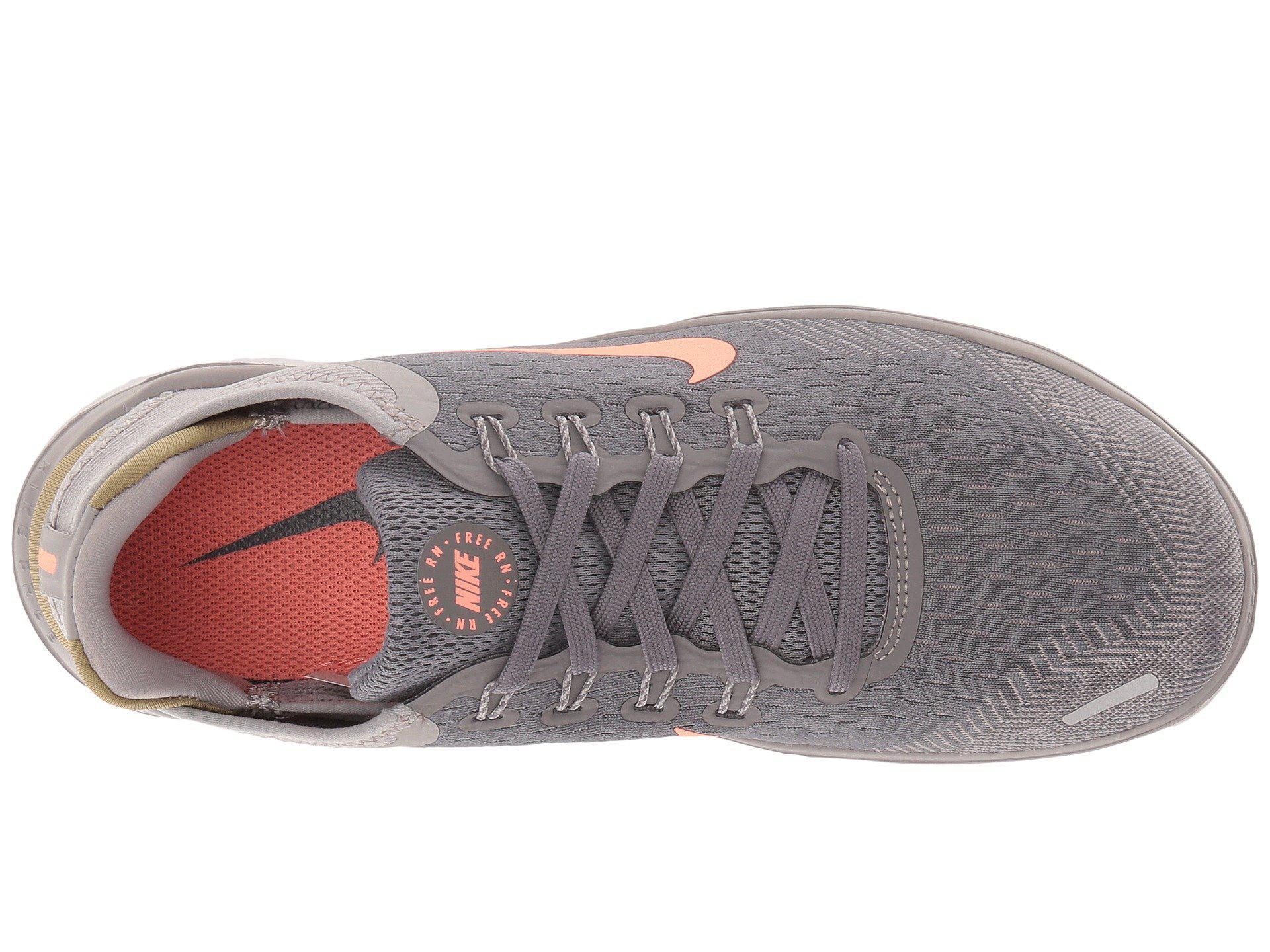 55525518b74 Lyst - Nike Free Rn 2018 (flash Crimson black orange Peel white ...