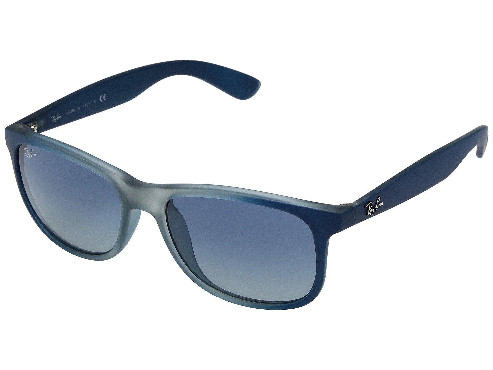 2017072109 Lyst - Ray-Ban Rb4202 Andy 55mm (blue-rubber Light Grey Translucent ...