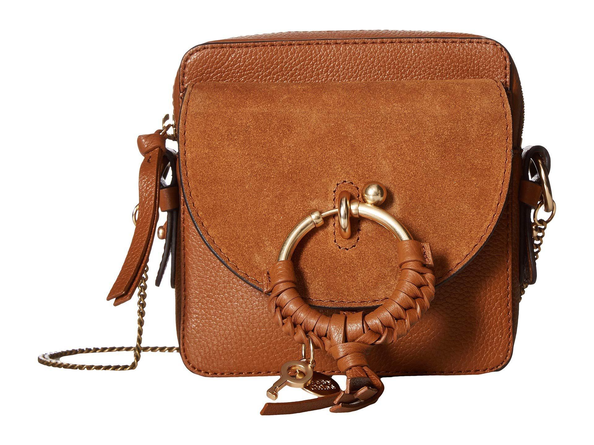 1554f2a77913 Lyst - See By Chloé Joan Mini Camera Bag (black) Shoulder Handbags ...