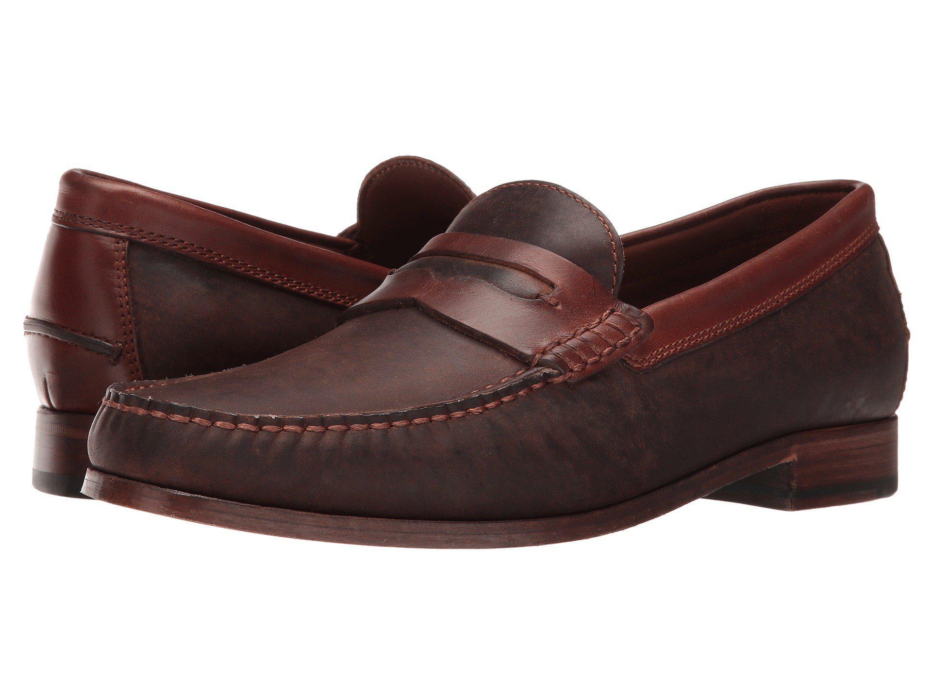 3efddaef52a Lyst - Trask Sadler (snuff English Suede) Men s Slip On Shoes in ...