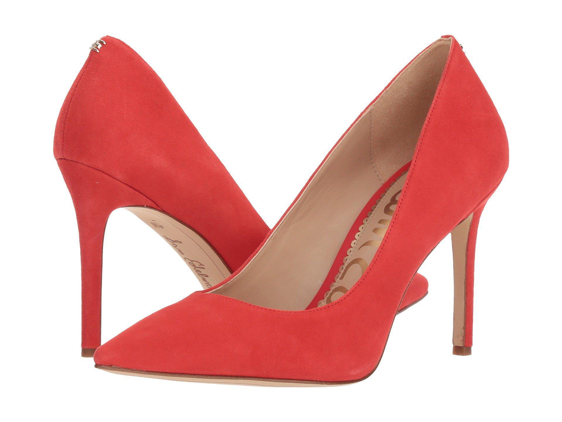 1fa55d907c3 Lyst - Sam Edelman Hazel (rose Gold Mini Glitter) Women s Shoes