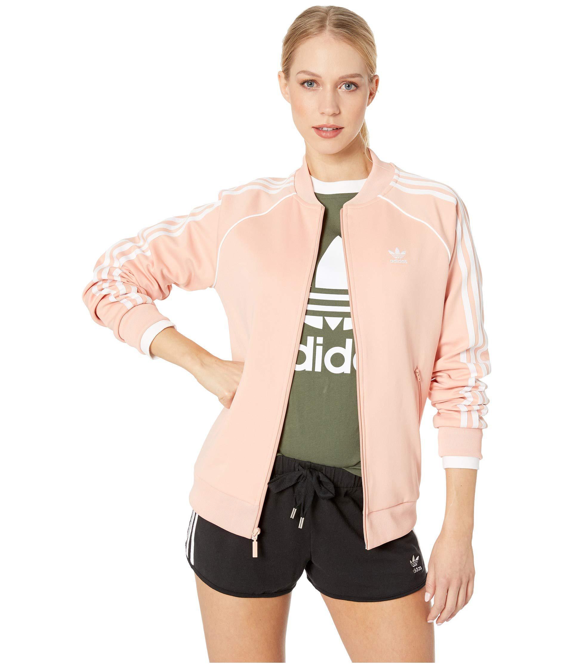 Lyst - Adidas Originals Sst Track Jacket (collegiate Navy) Women s ... f1287f9e78