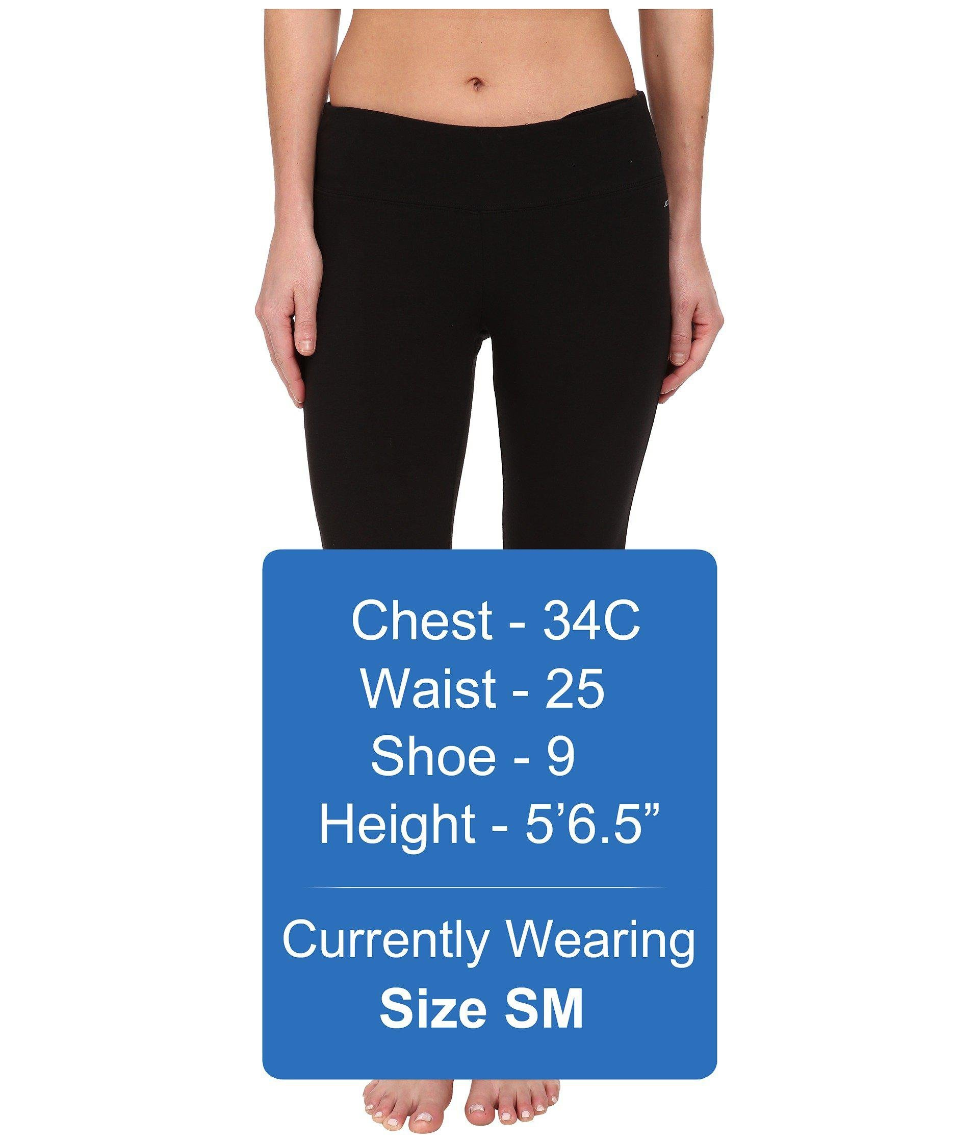 38fc1cd00e7af Jockey Active - Slim Capri Flare (black) Women's Capri - Lyst. View  fullscreen