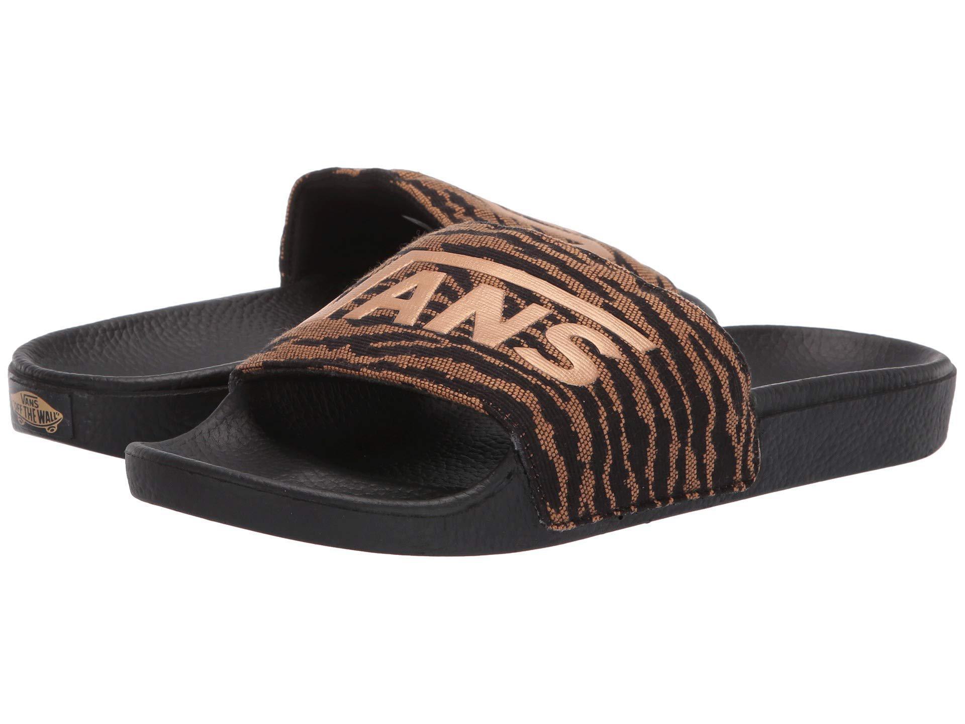6e5bd9ca1f6310 Lyst - Vans Slide-on (() Black) Women s Sandals in Black